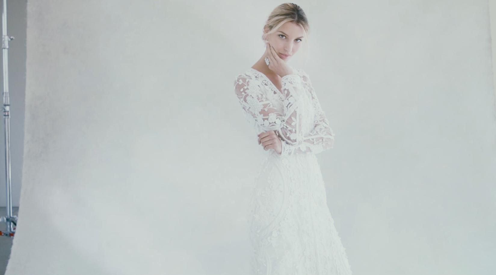 Sneak peek at Oscar de la Renta's Fall 2017 wedding dress collection