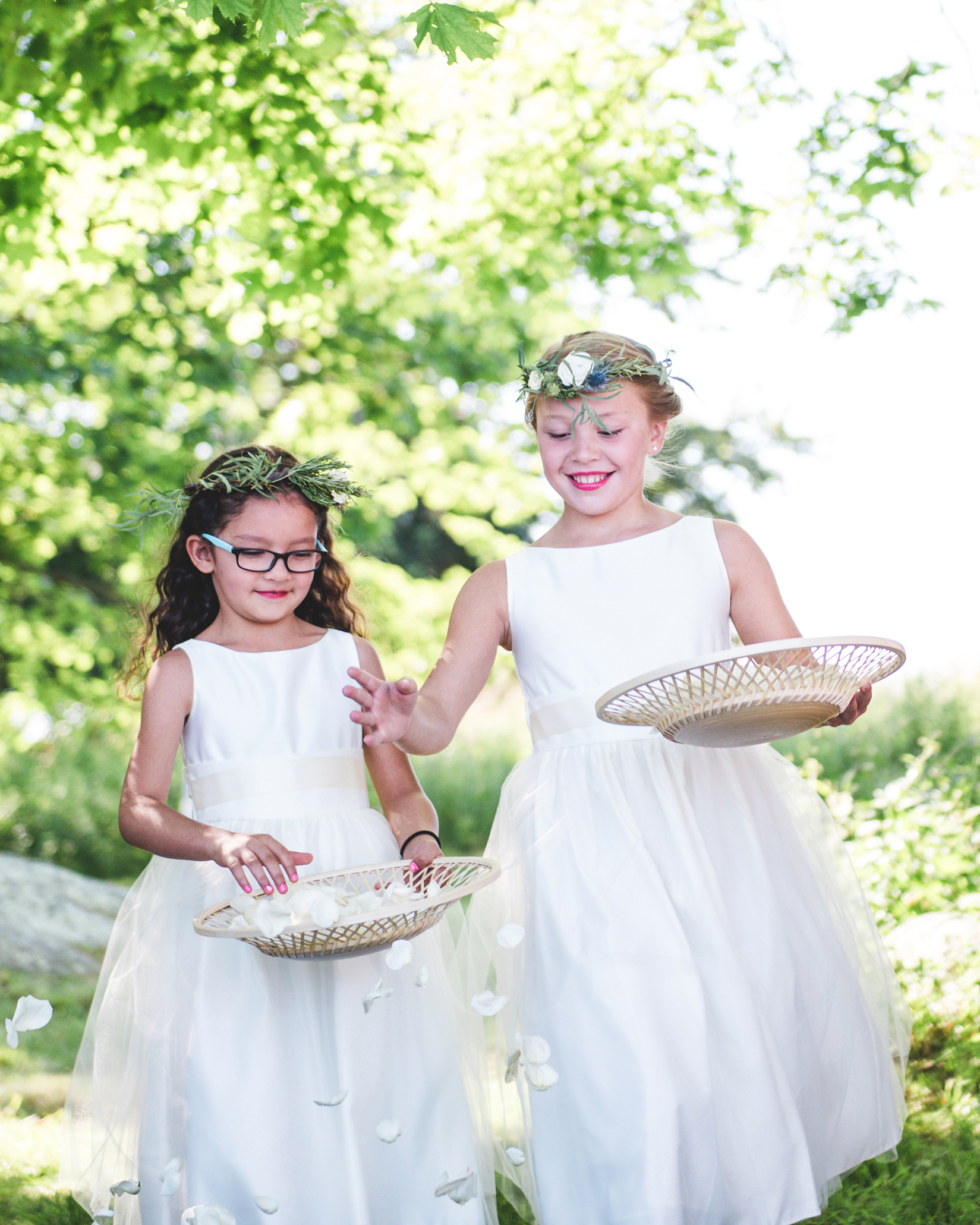 katie simon wedding flower girls