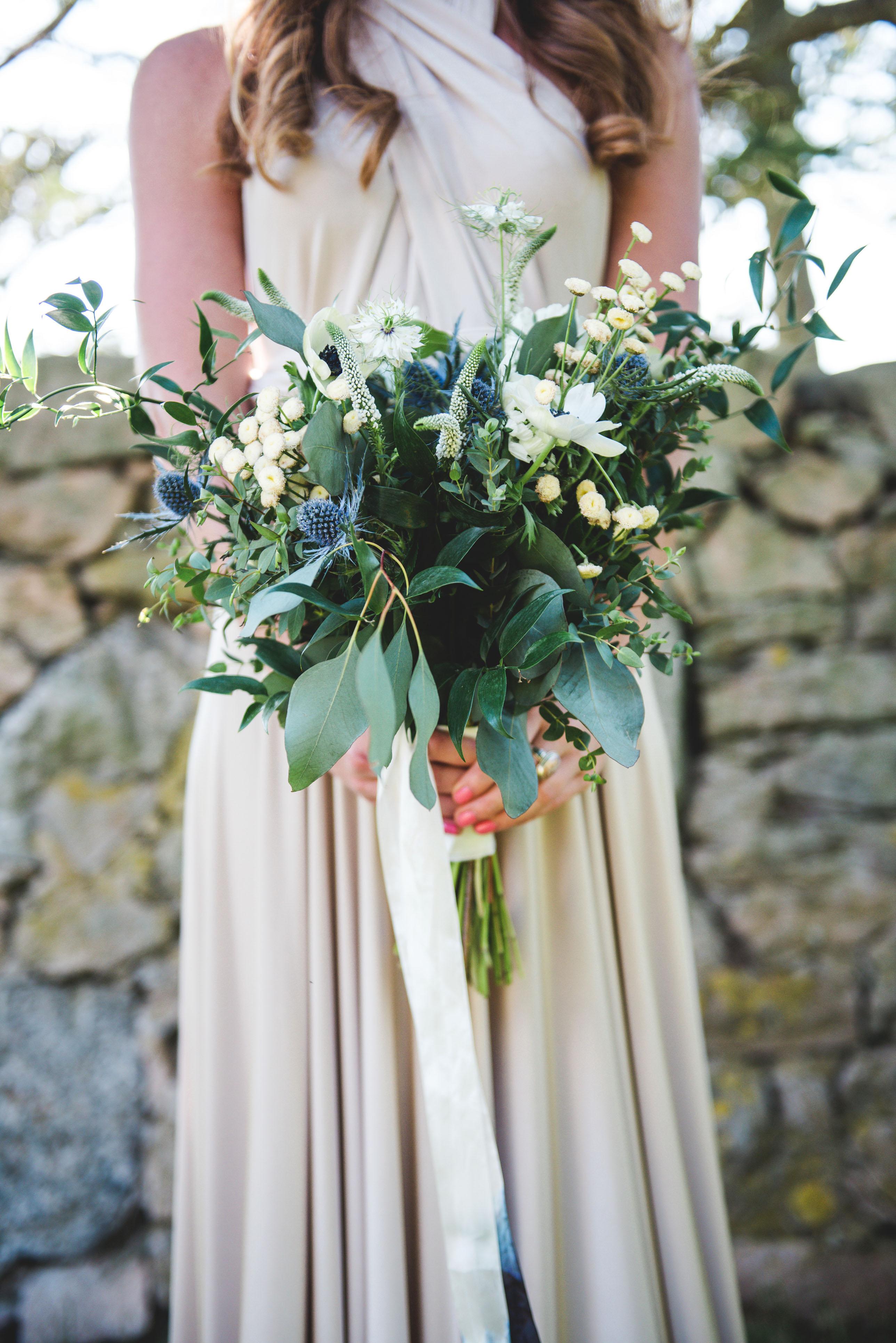katie simon wedding bouquet