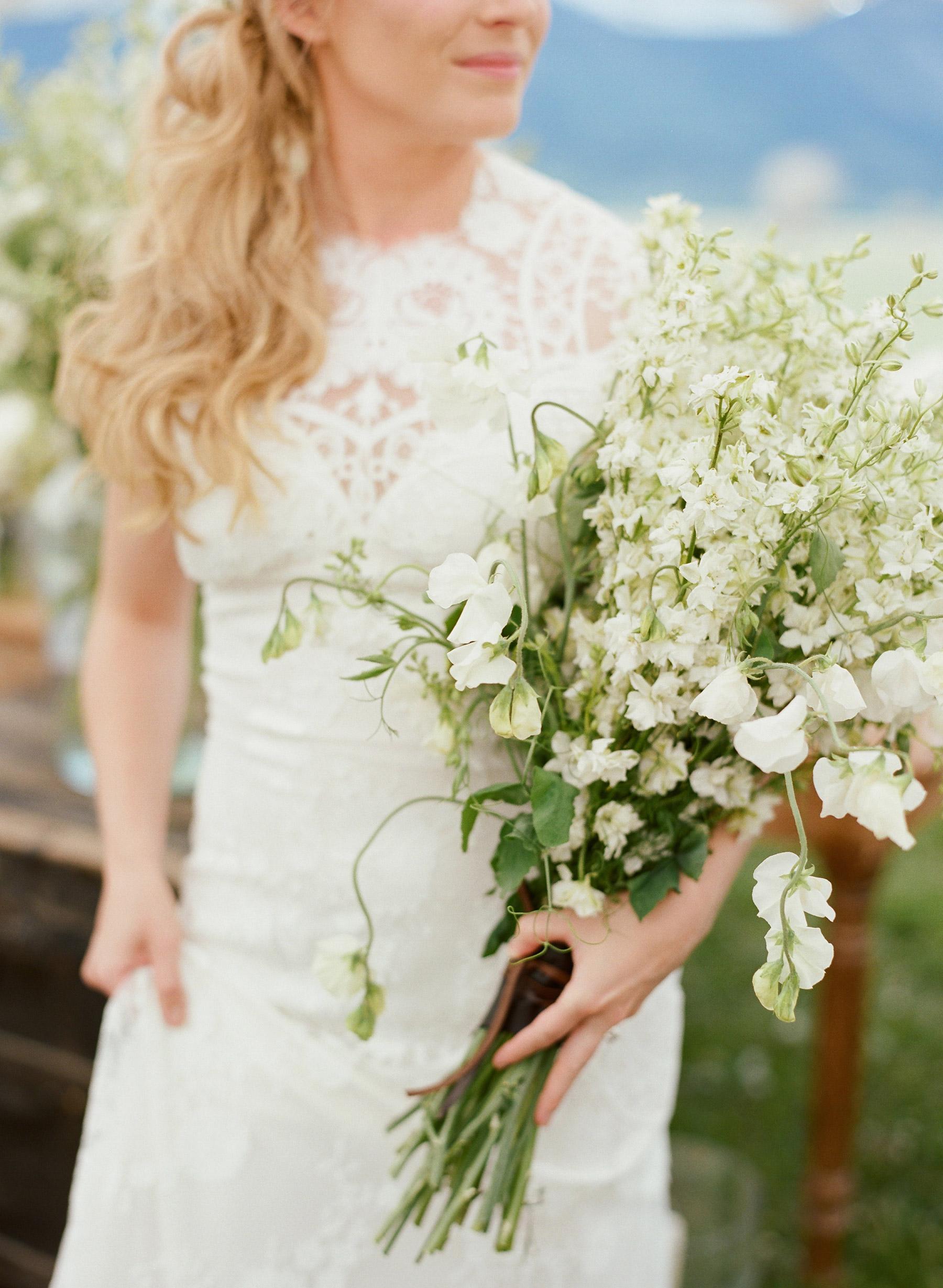 Colby John Wedding bouquet