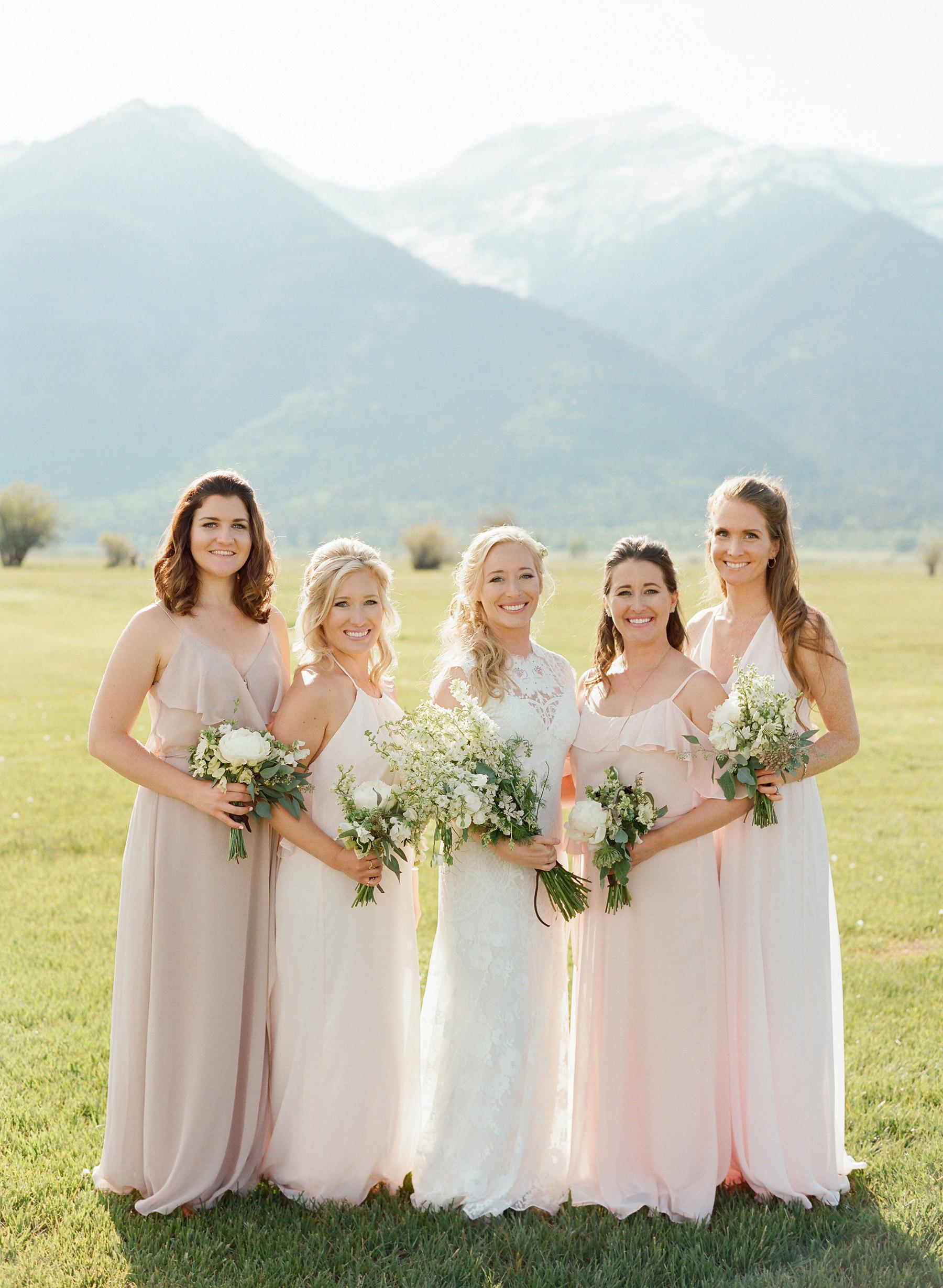 colby john wedding bridesmaids