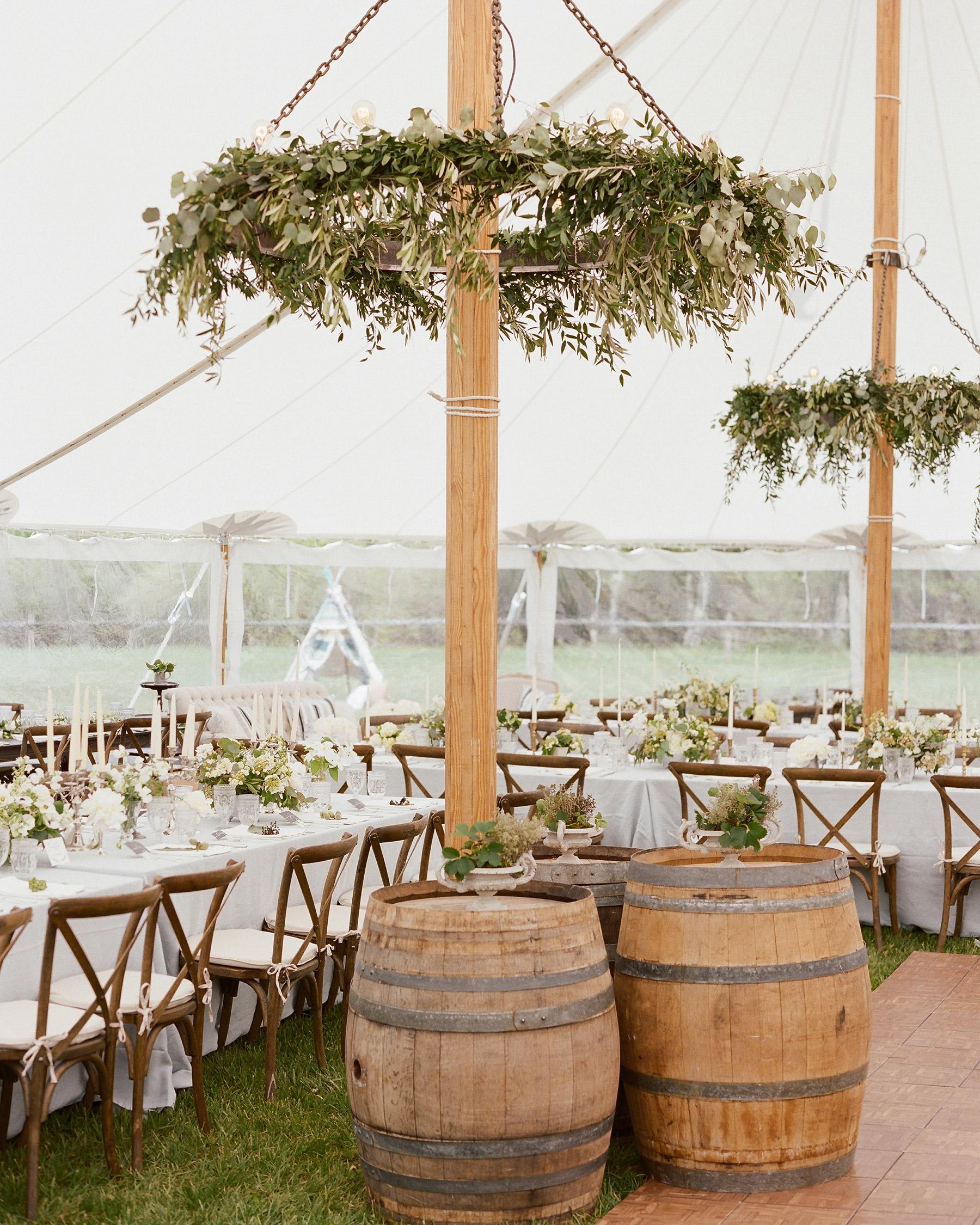Colby John wedding tent