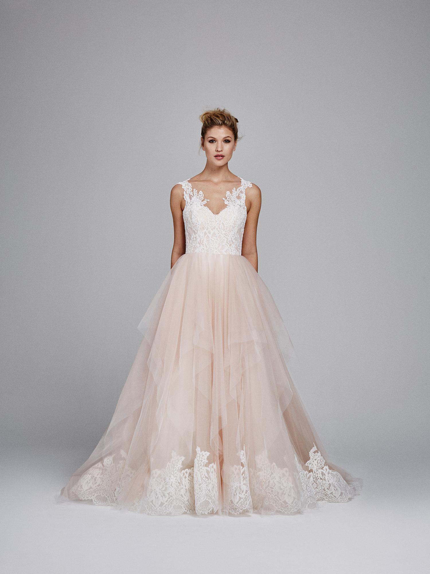 kelly faetanini wedding dress fall 2017