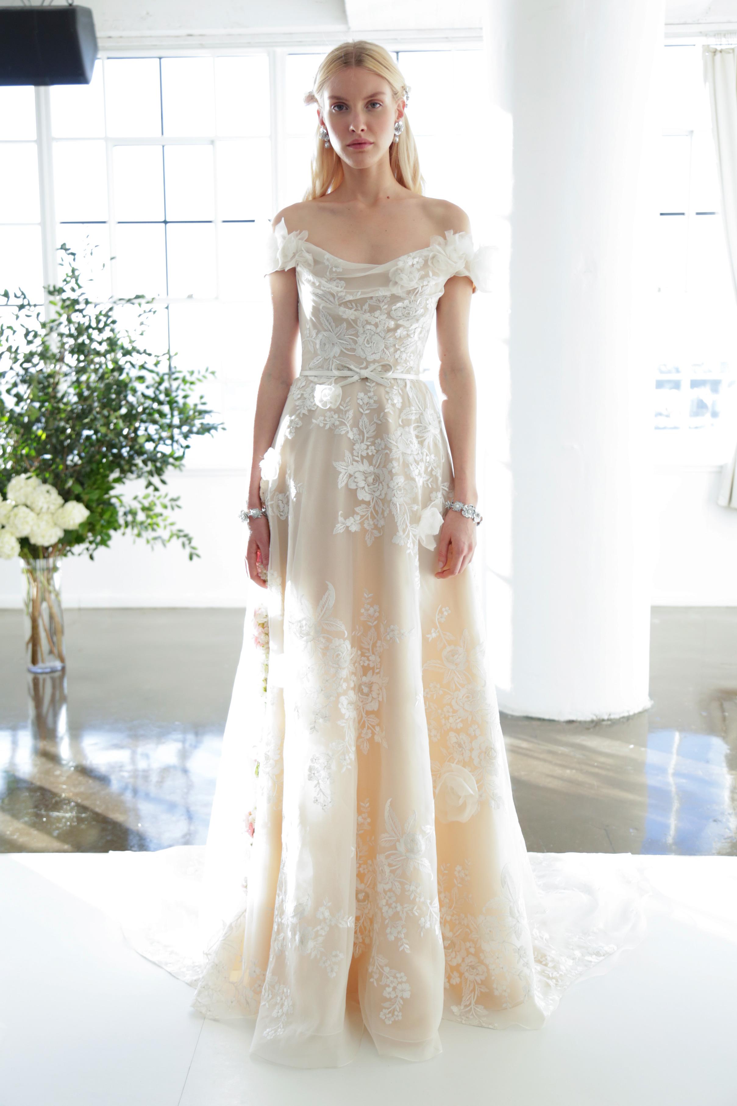 Marchesa wedding dress 9 Fall 2017