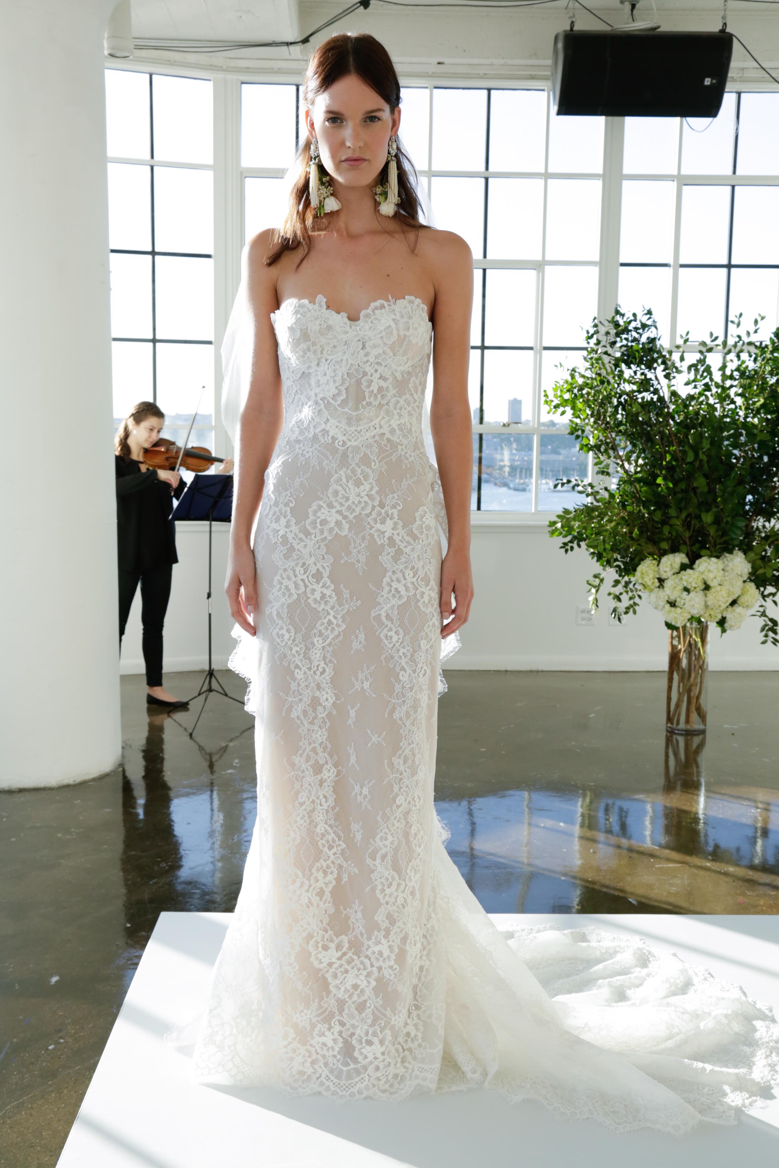 Marchesa wedding dress Fall 2017