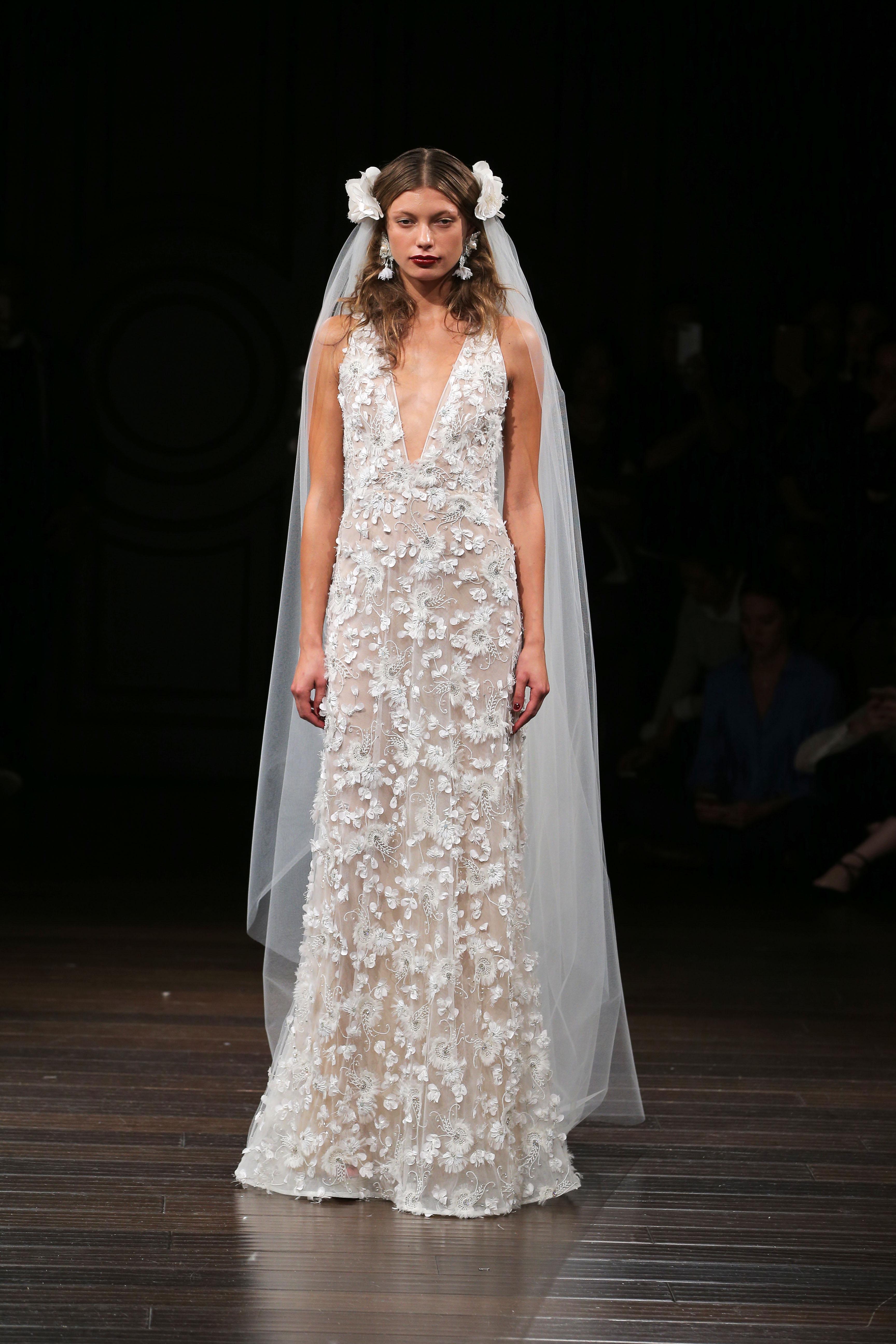 Naeem Khan Fall 2017 Wedding Dress Collection