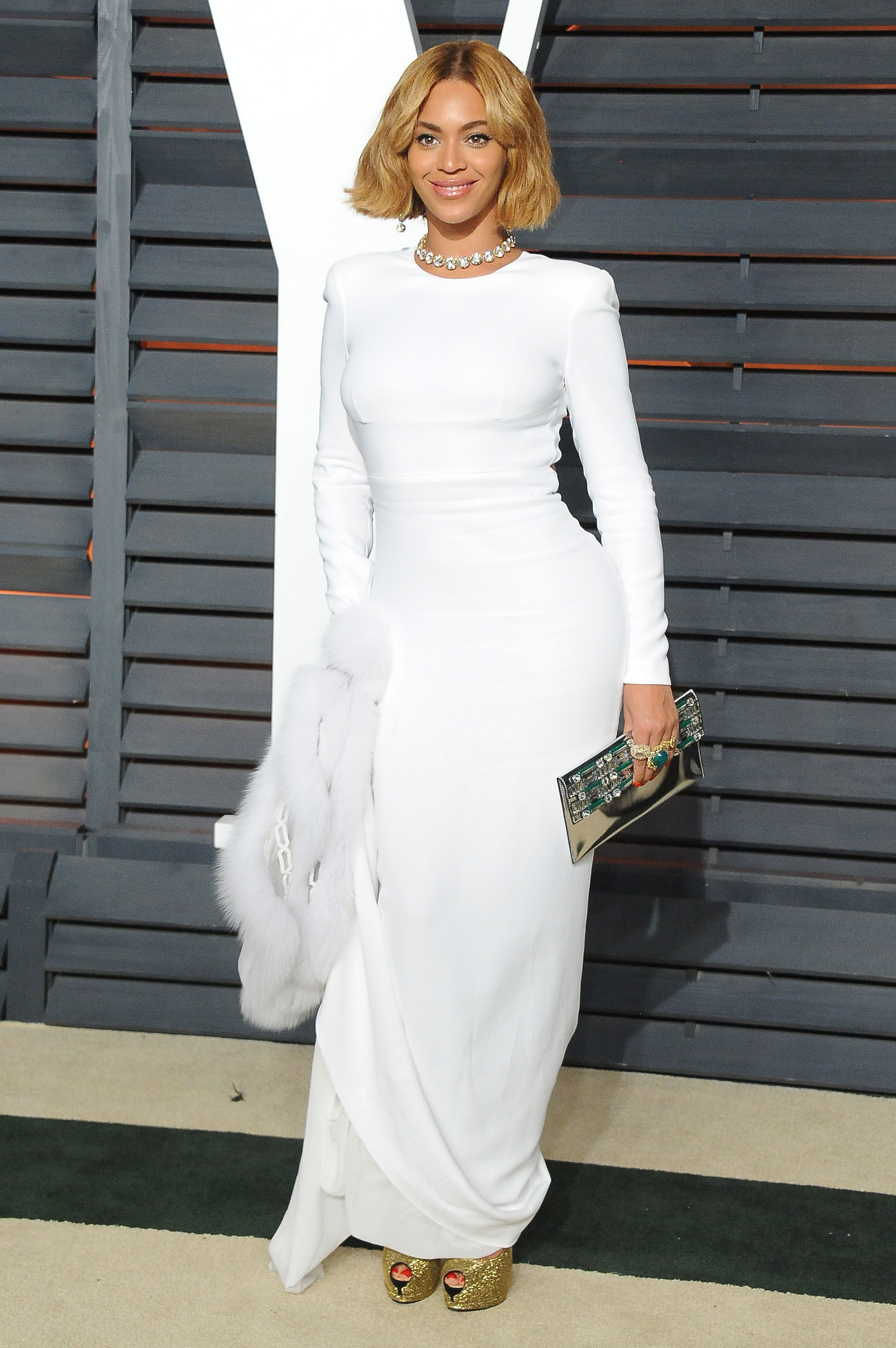 Beyonce Vanity Fair Oscar Party