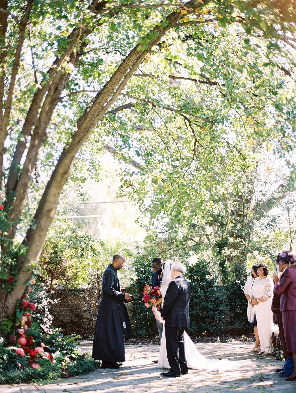 yolanda cedric wedding ceremony