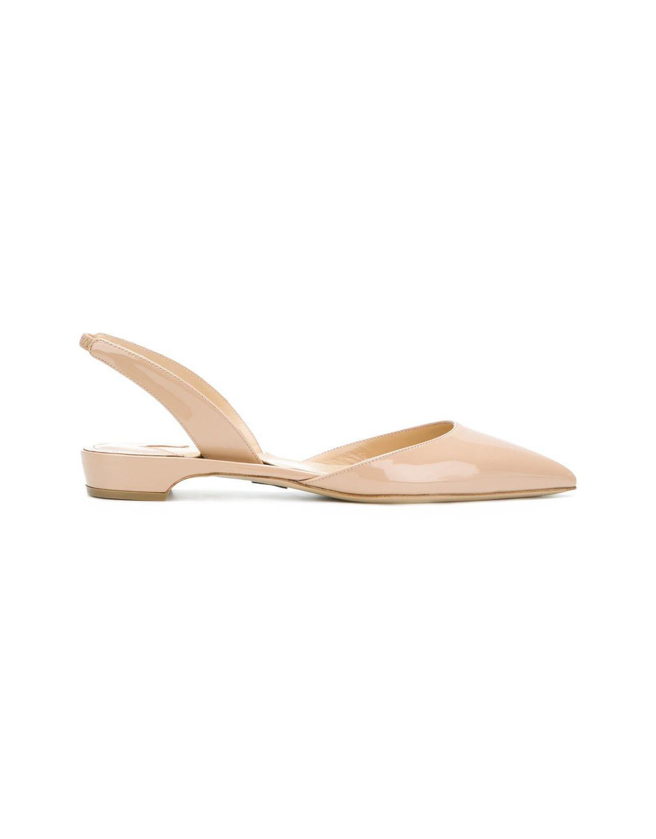 nude shoe tan slink back sandals