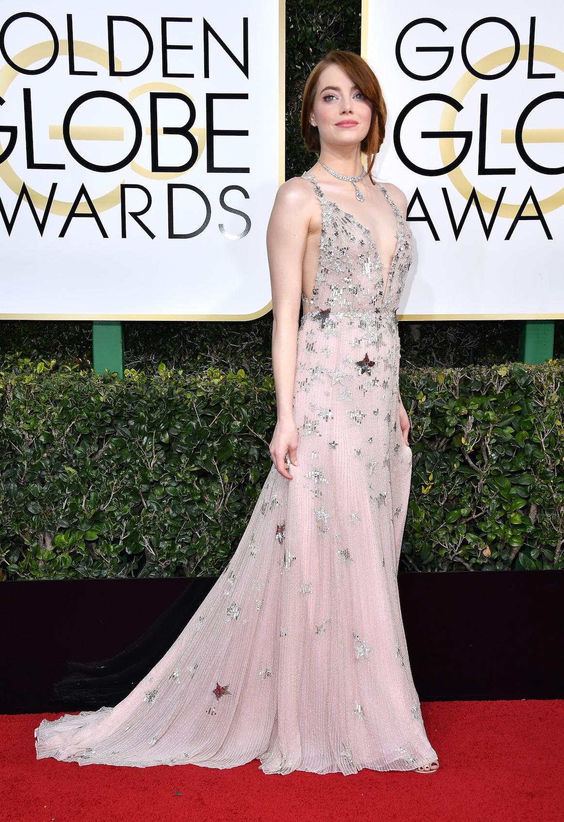 Emma Stone Golden Globes 2017