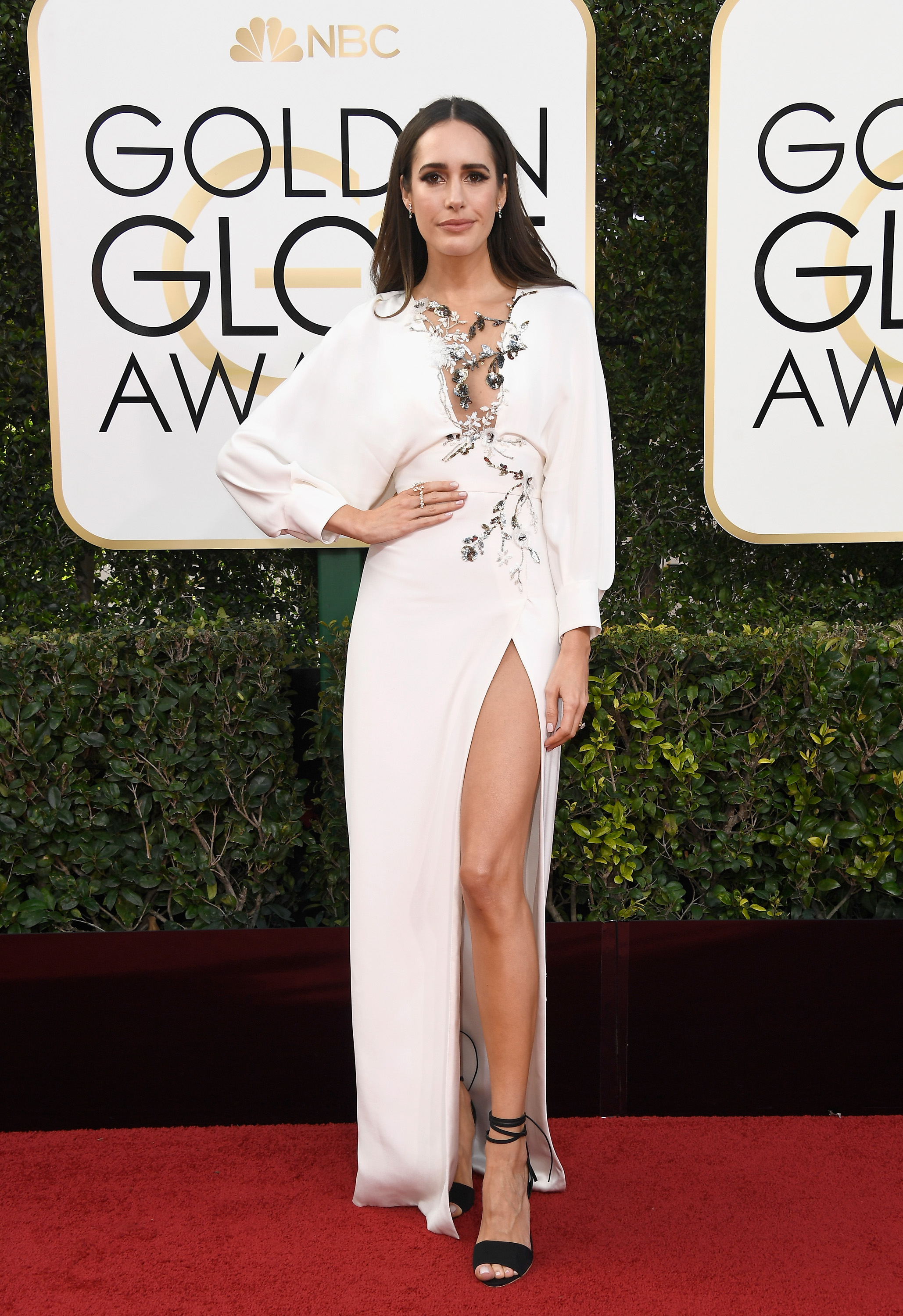 Louise Roe Golden Globes 2017