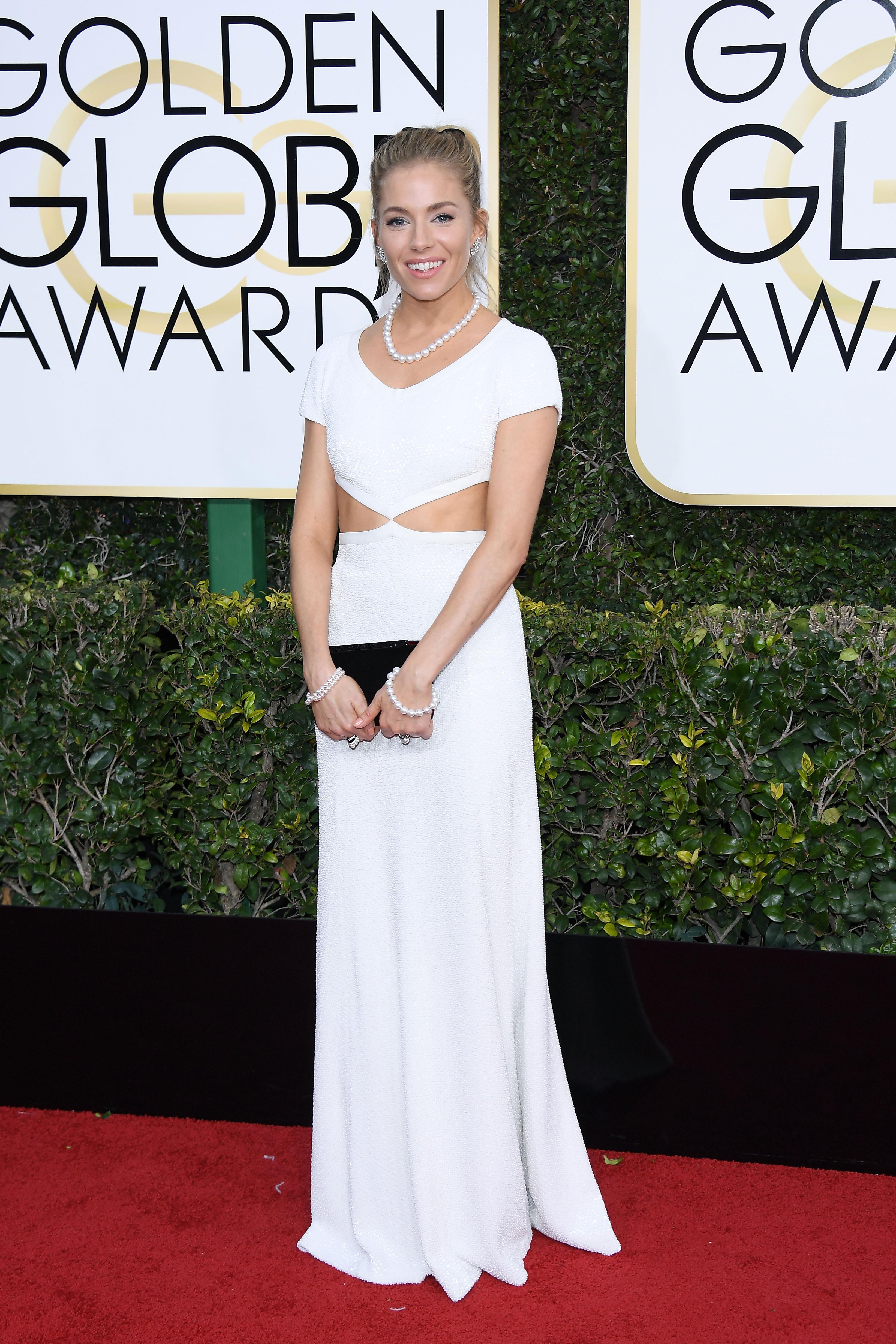 Sienna Miller Golden Globes 2017