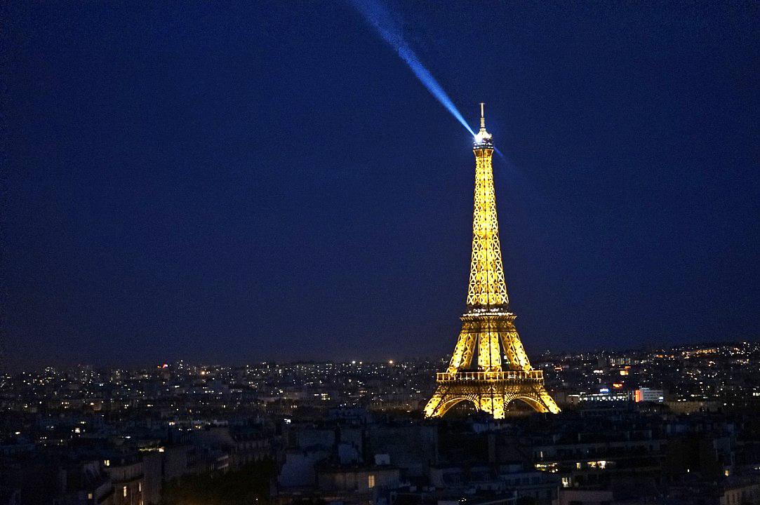romantic destination france paris eiffel tour