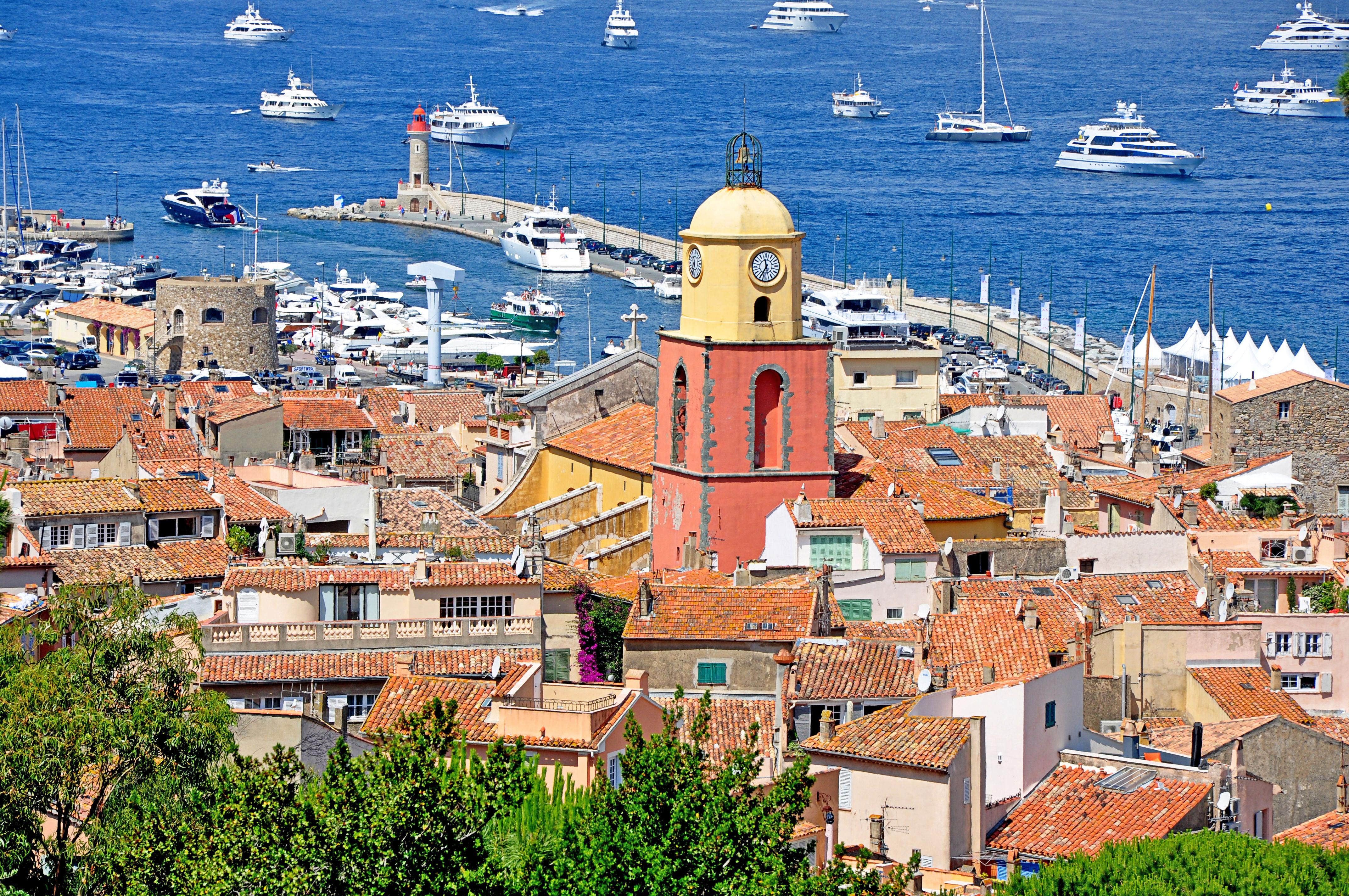 romantic destinations france saint tropez