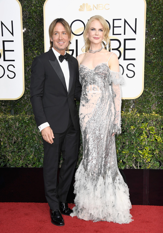 Nicole Kidman and Keith Urban Golden Globes 2017