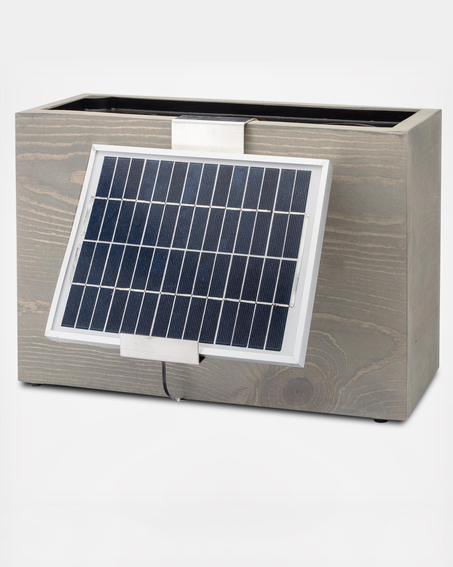 hydro planter solar powered