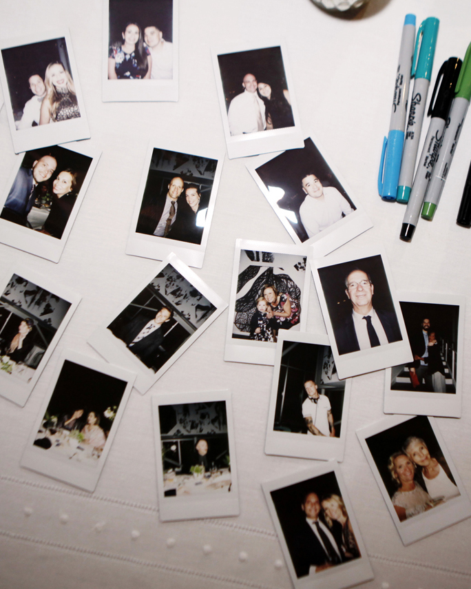 tommy steve wedding polaroids