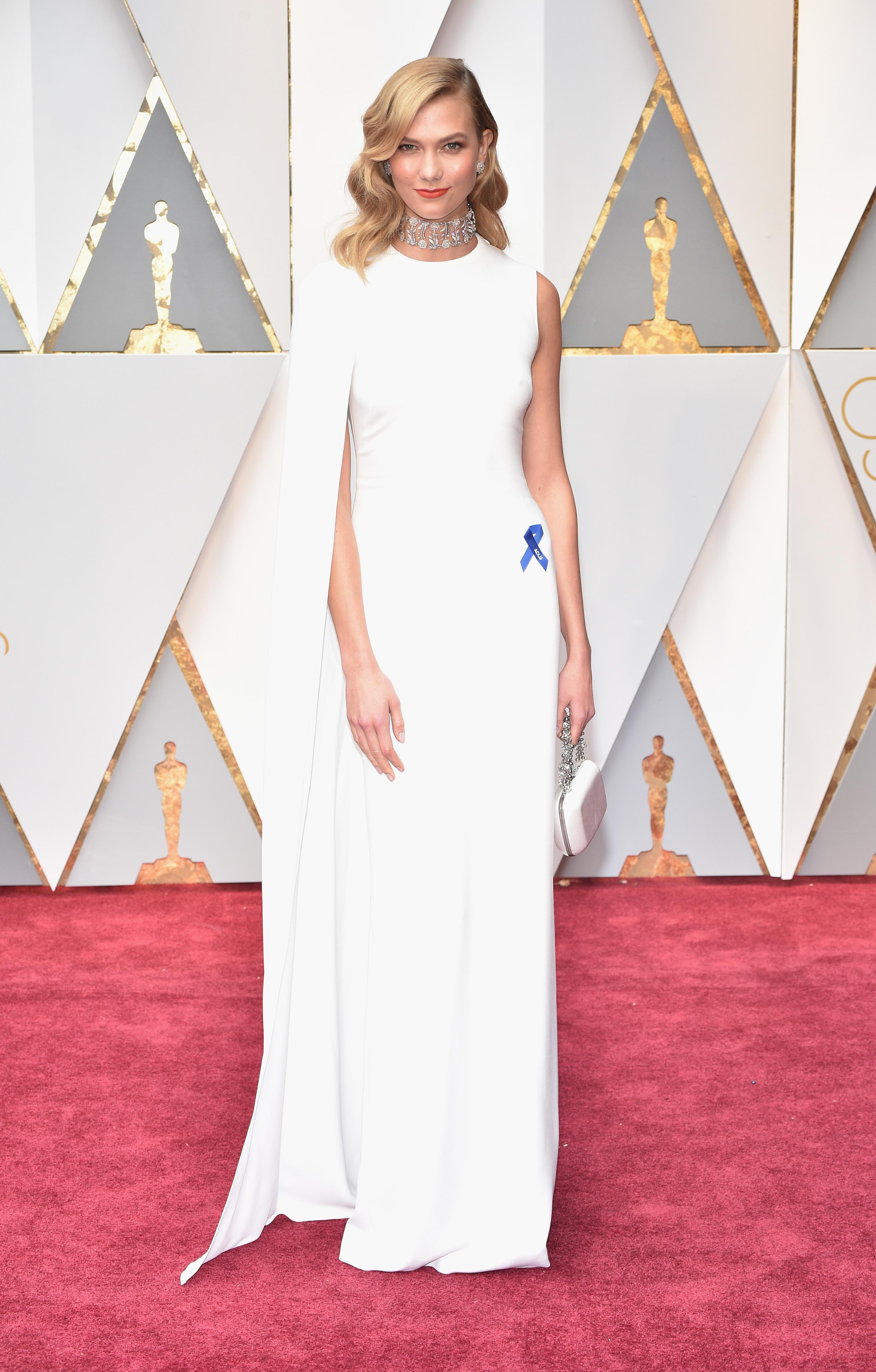 Karlie Kloss 2017 OscarsRed Carpet