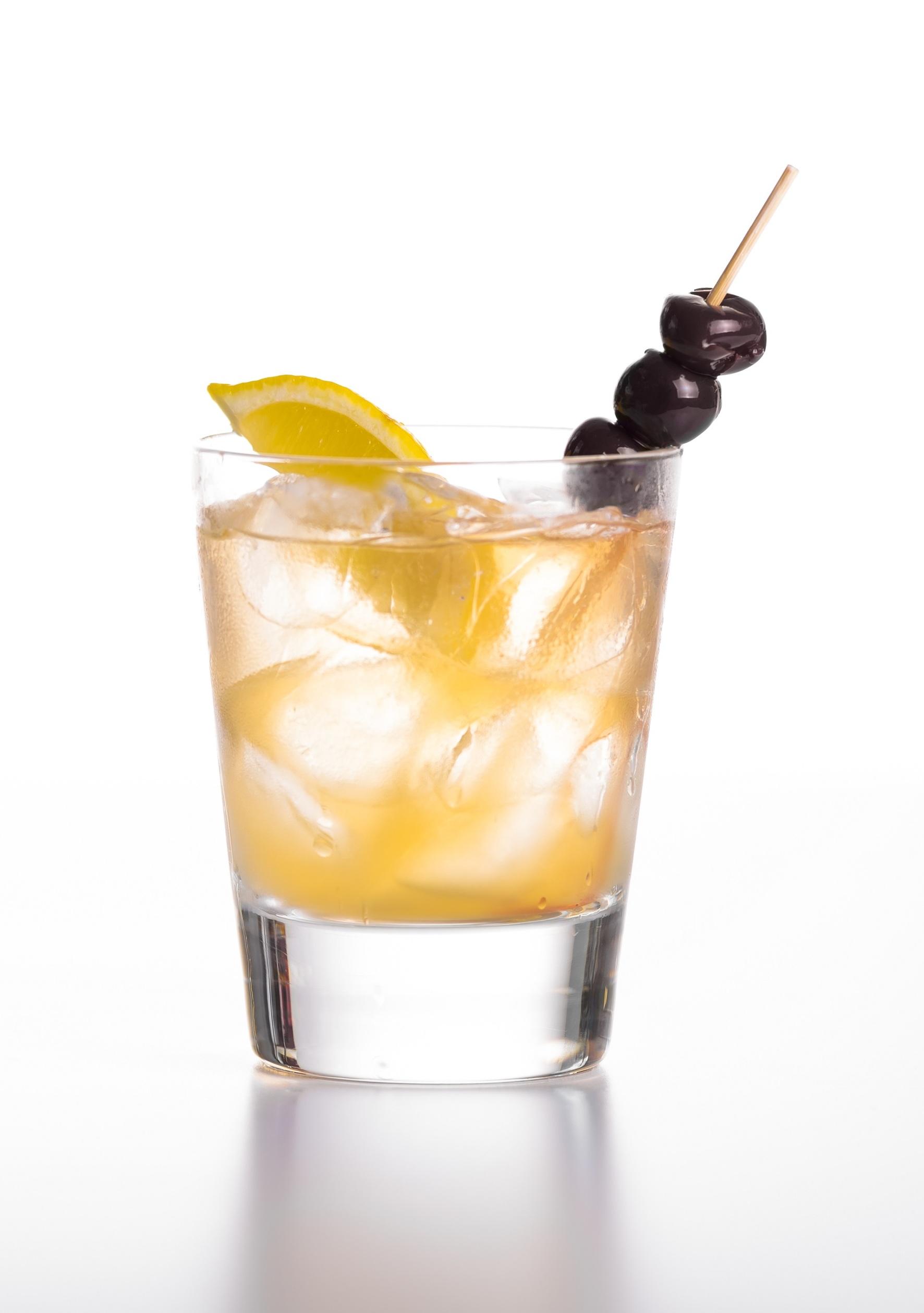 Apple Gin Rickey Cocktail