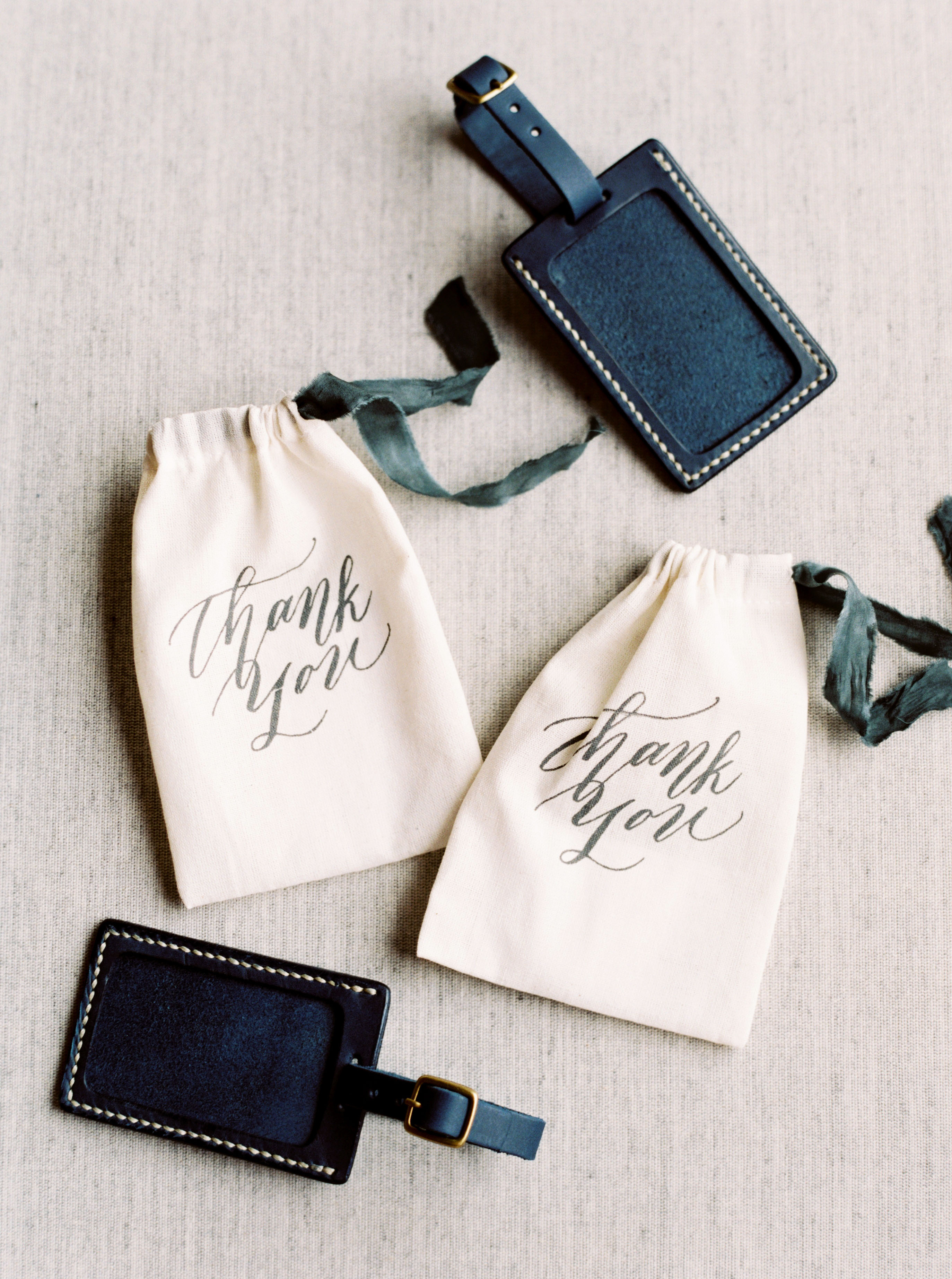 vivi yoga bali wedding ceremony favors luggage tags