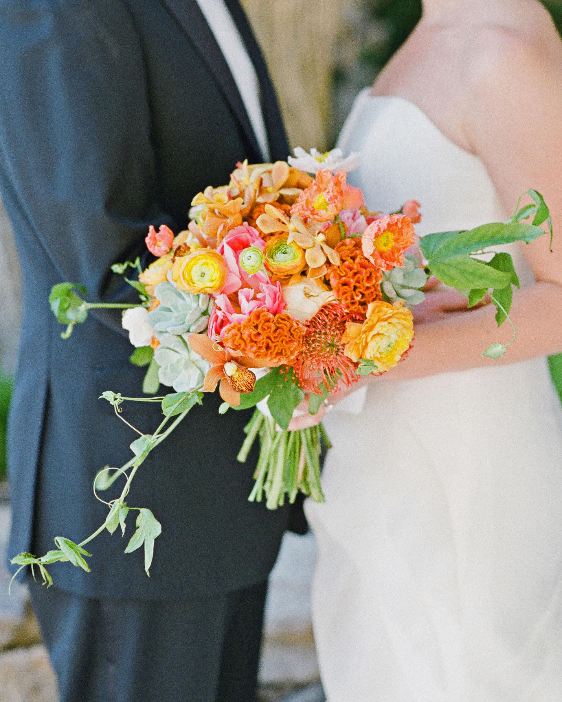 addie alex wedding bouquet