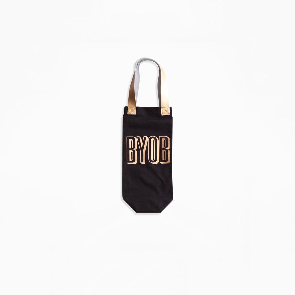 charm school byob wine tote bag