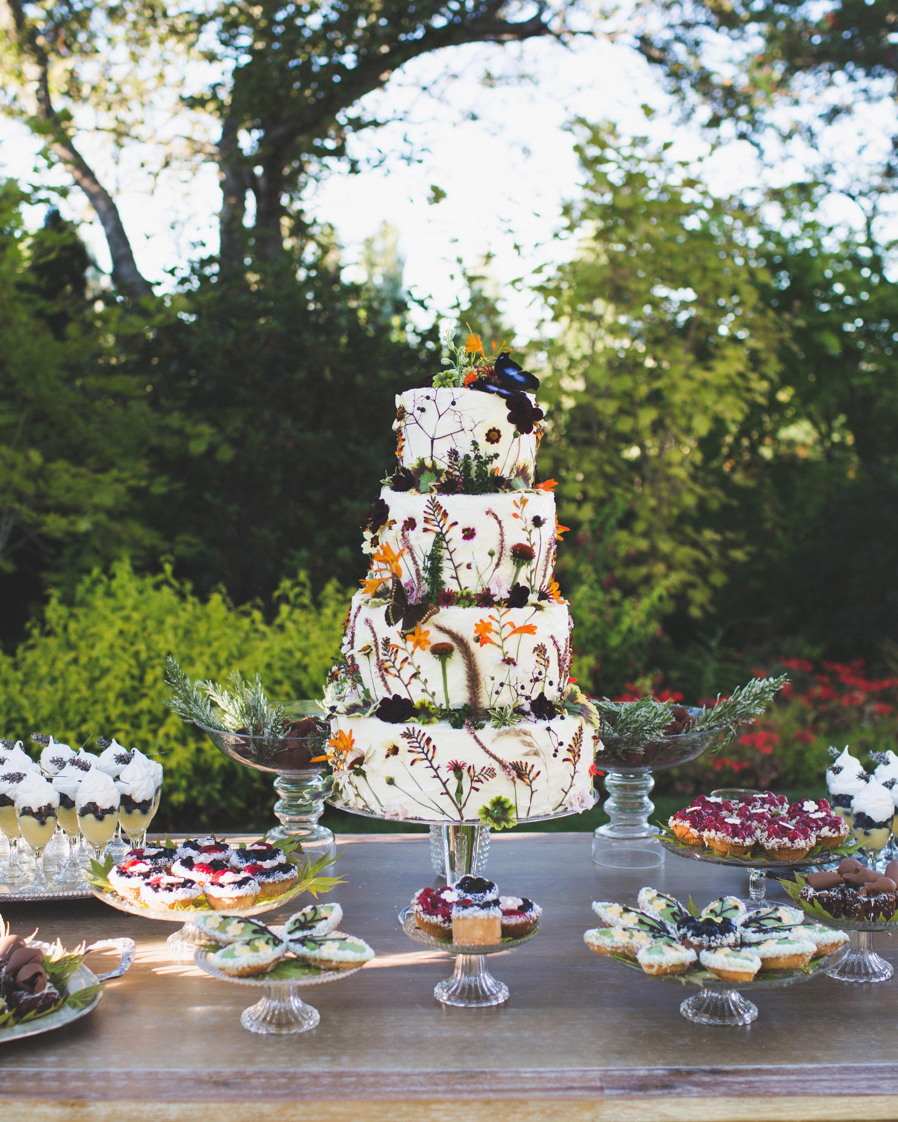 floral cake desserts