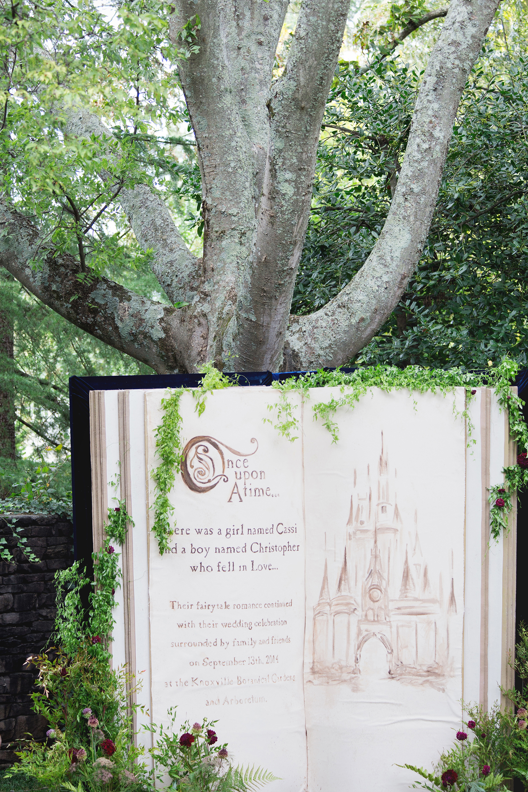 storybook photo booth