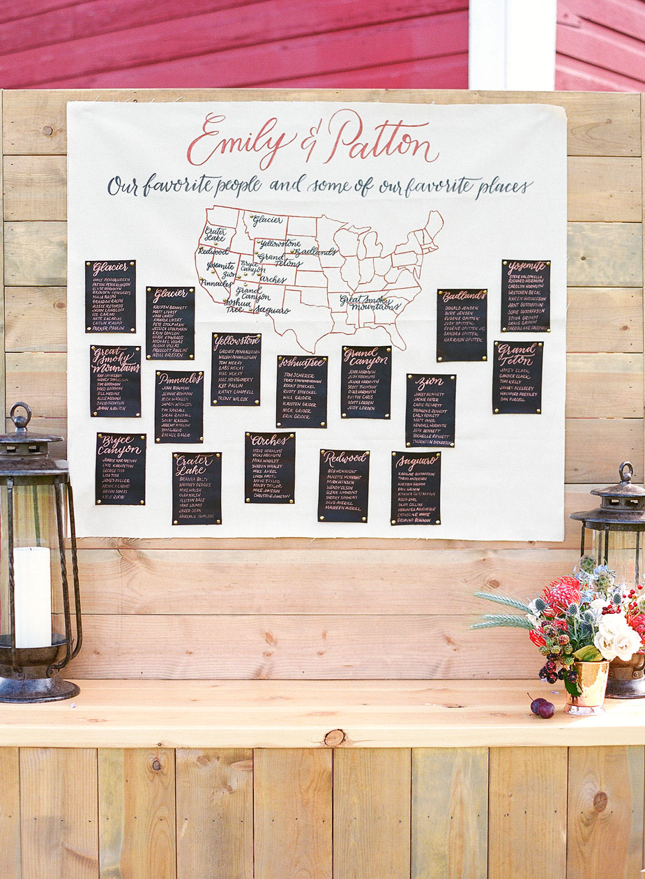 emily patton wedding montana seating assignments