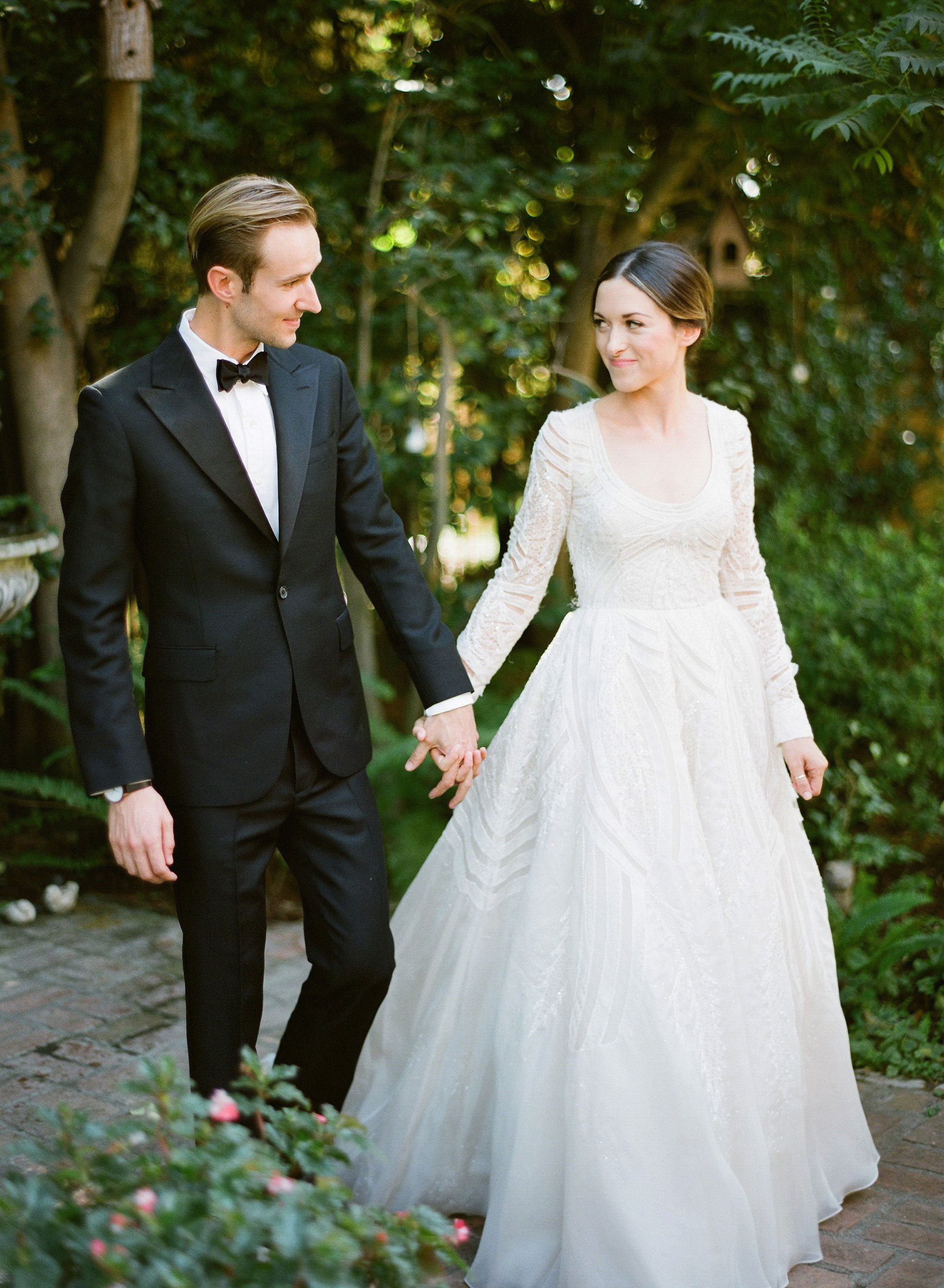 wedding couple emily grant