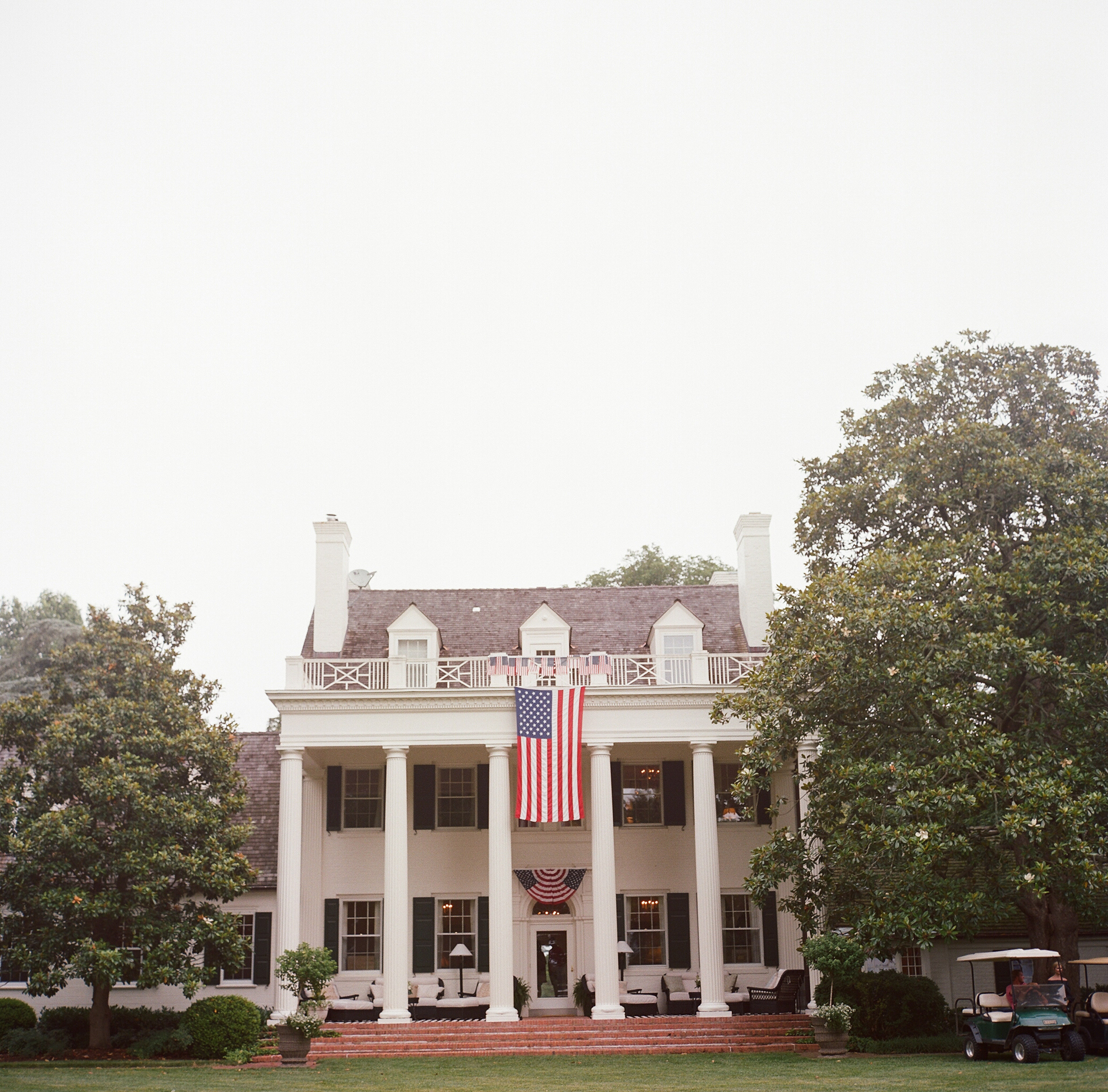 patriotic party home setting