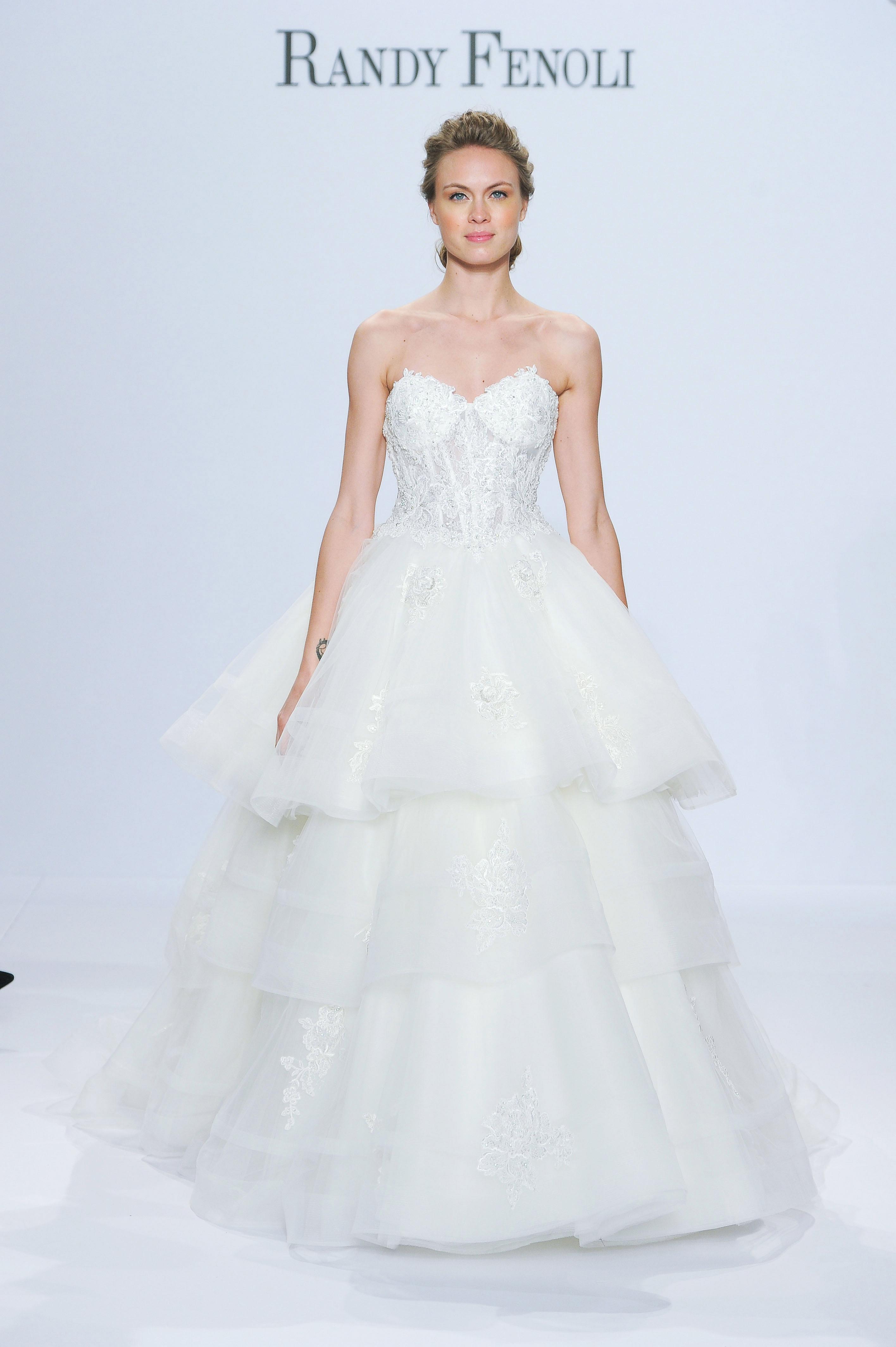 randy fenoli ball gown wedding dress spring 2018