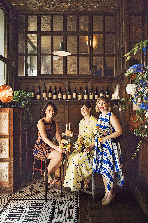 ali mark wedding new york bridesmaids