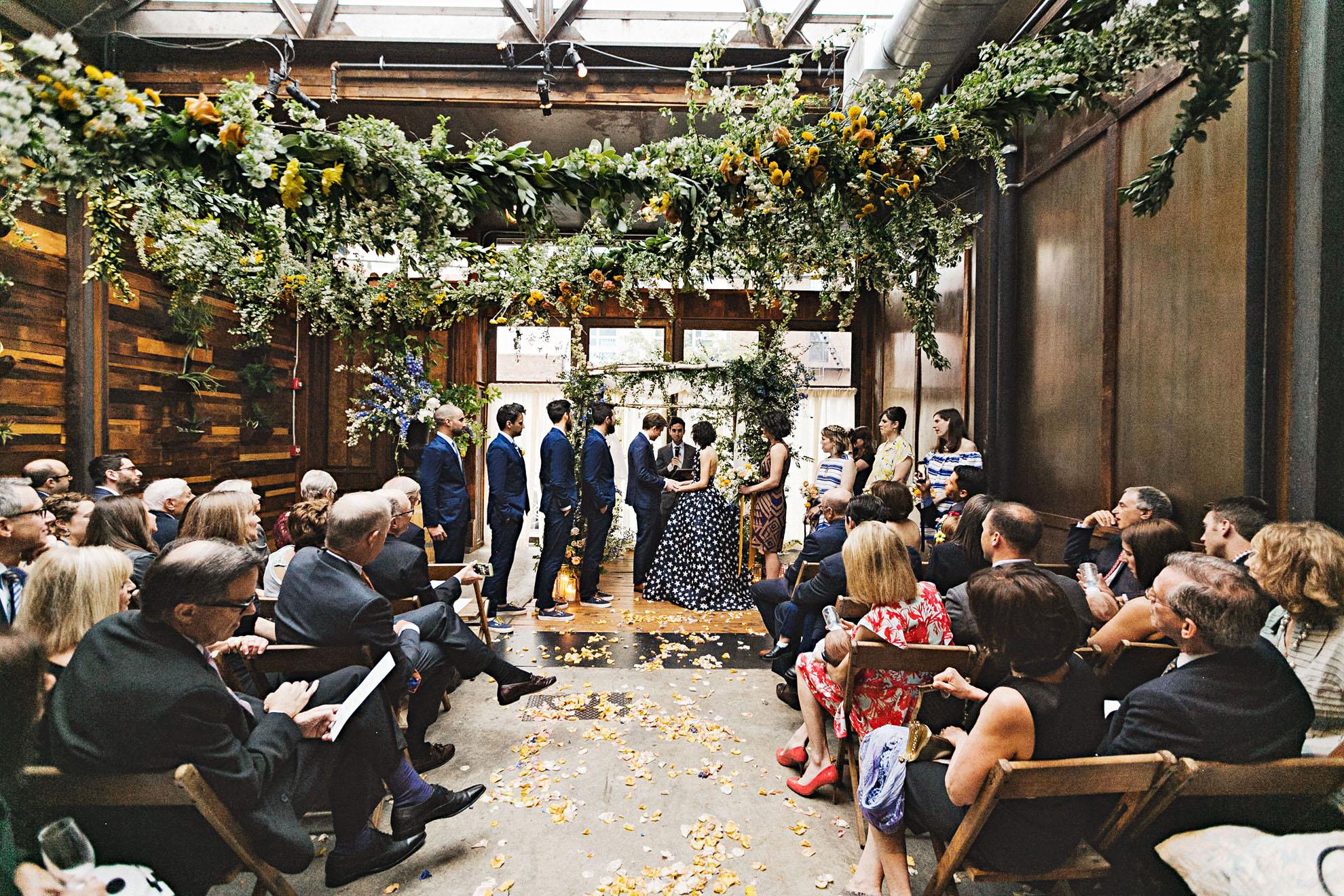 ali mark wedding new york ceremony