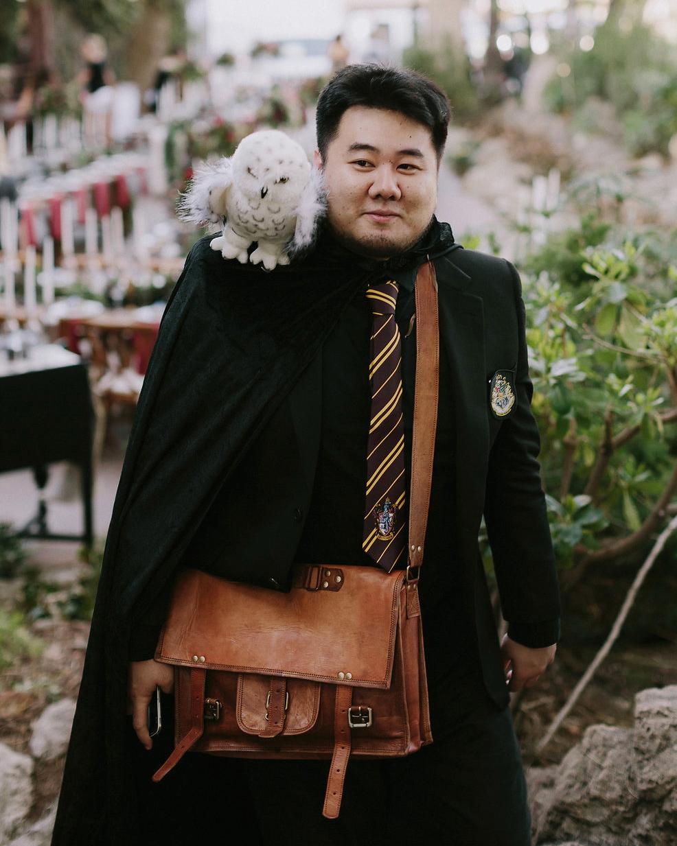 harry potter wedding guest