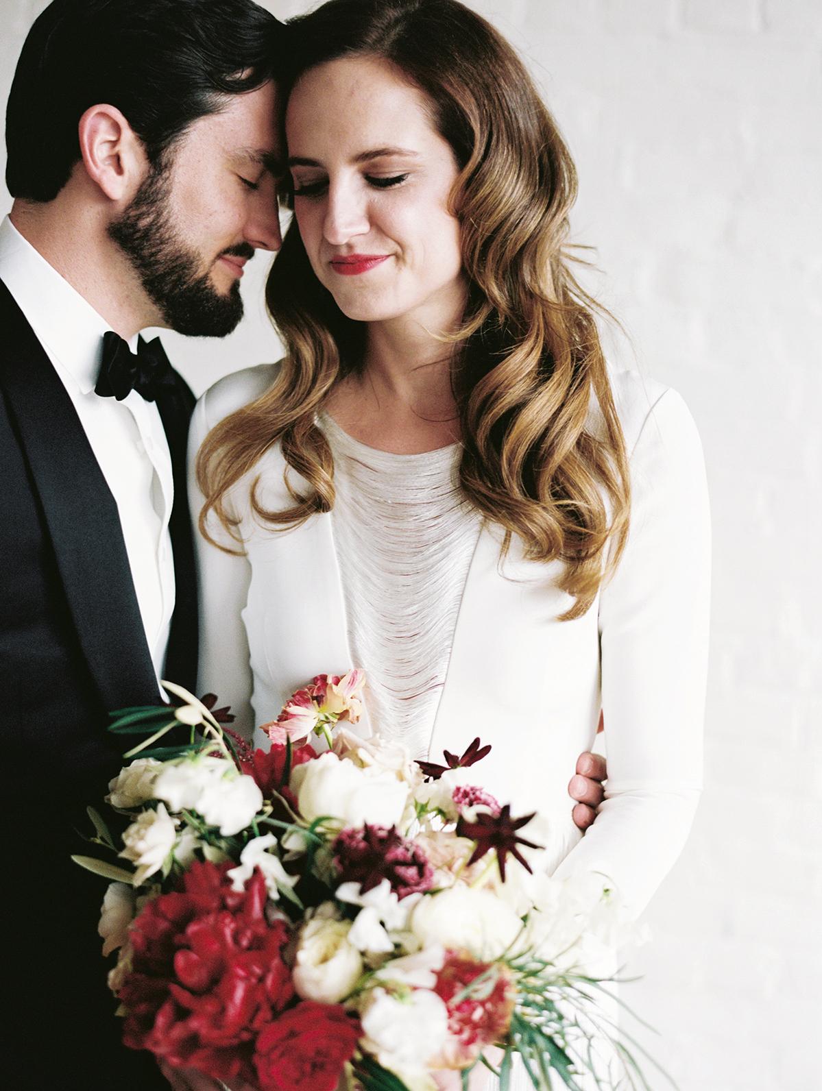 joanna jay wedding couple embrace