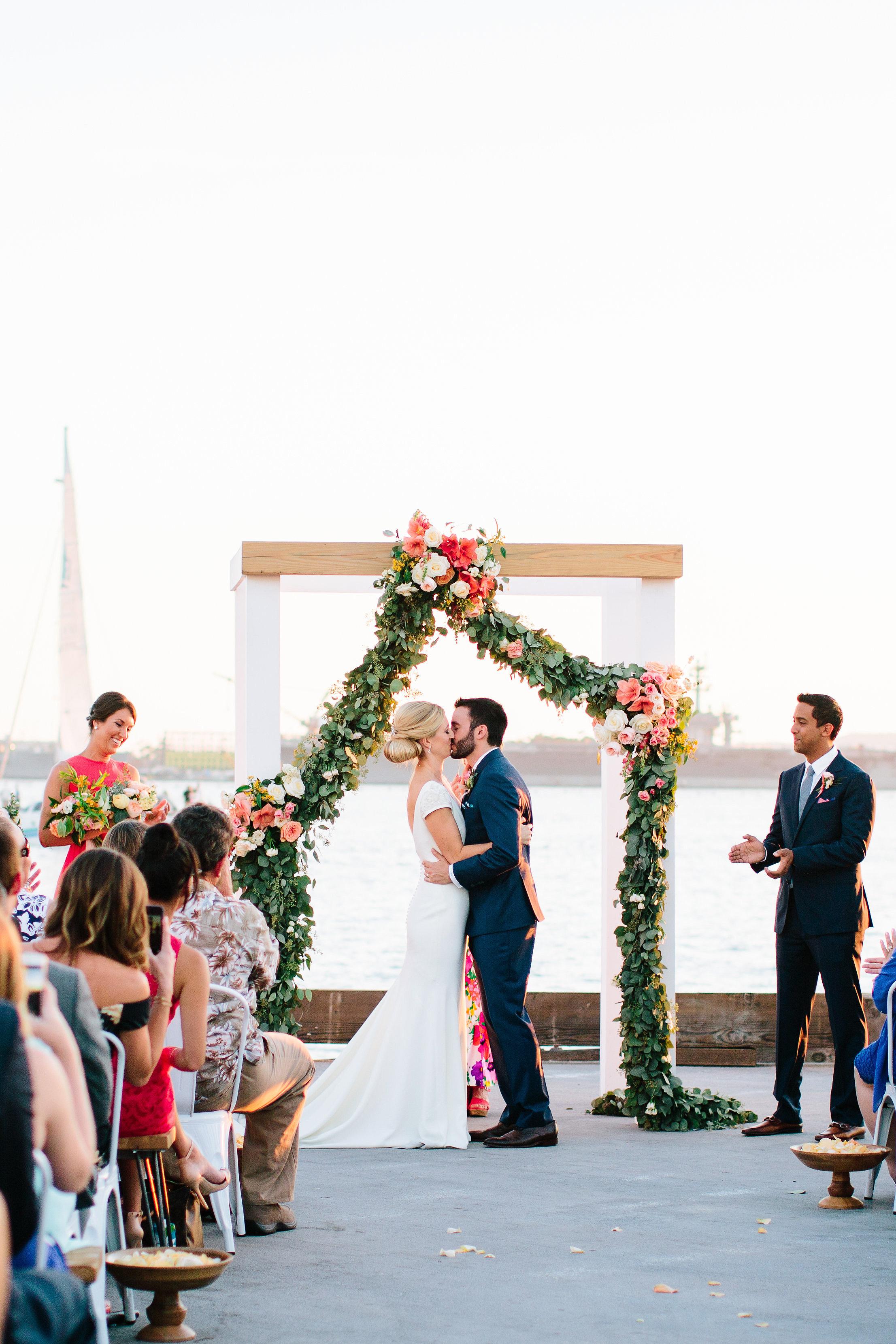 julie anthony real wedding ceremony alter