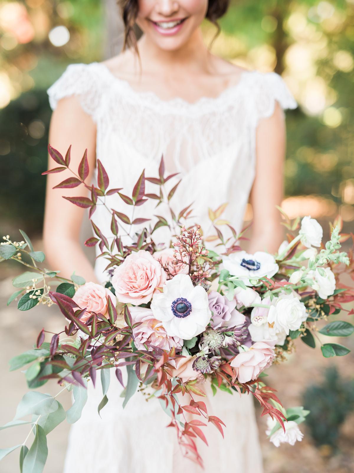 anemone bouquets janine licare