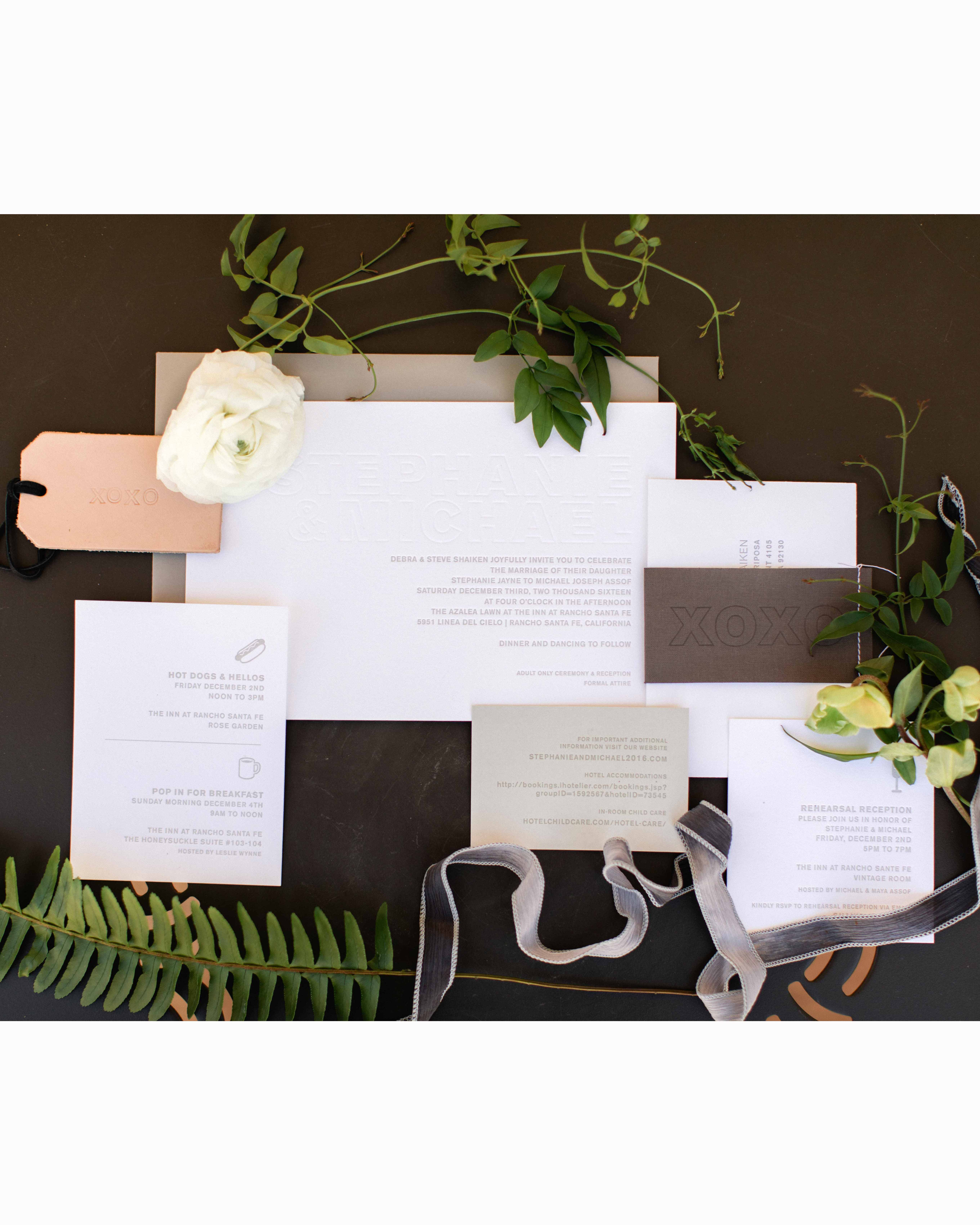 Modern Stationery with Edge