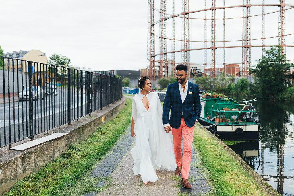 Real Brides Who Nailed The Bridal Jumpsuit Look Martha