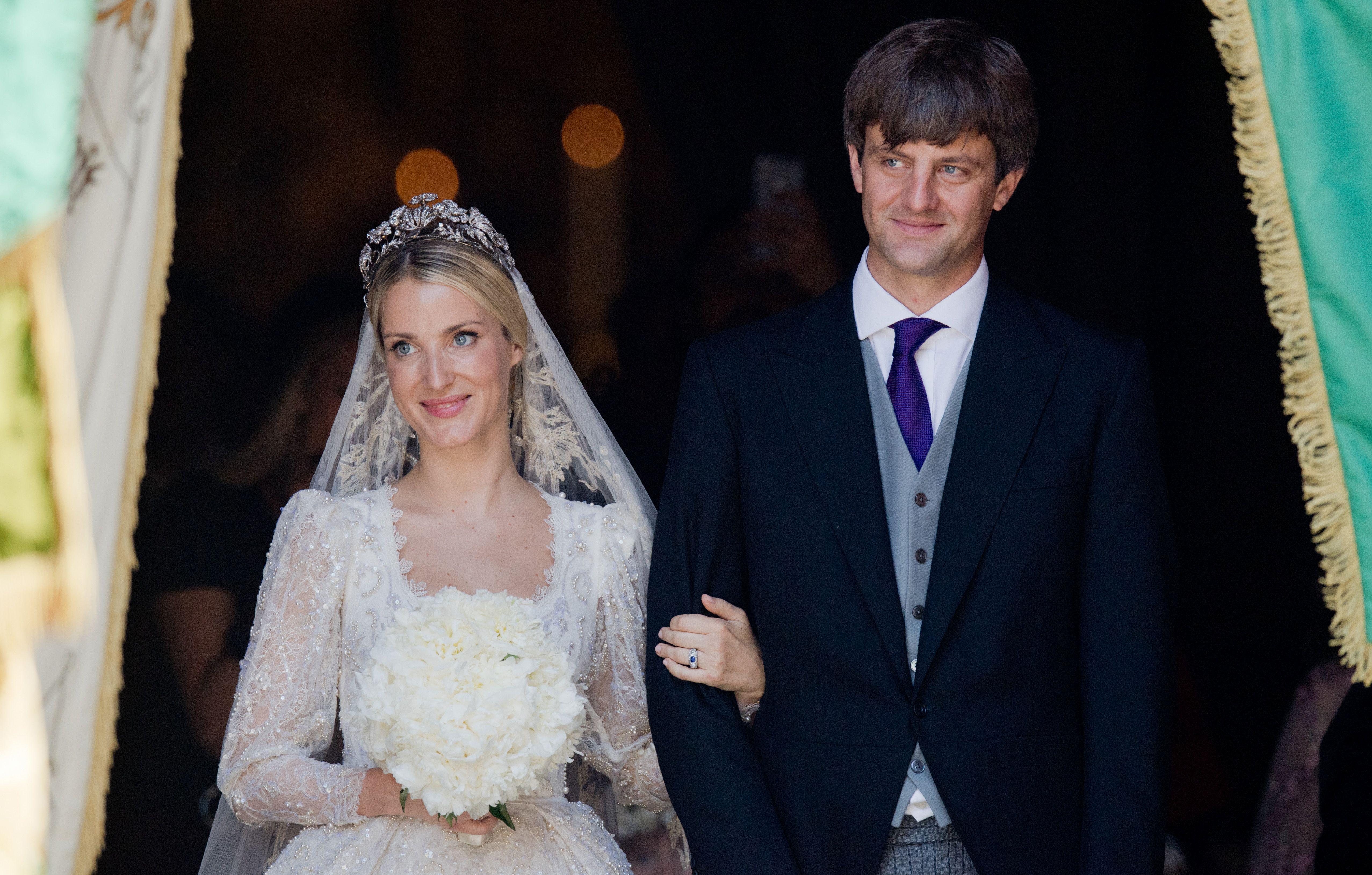 Prince Ernst-August Jr. and Ekaterina Malysheva at wedding