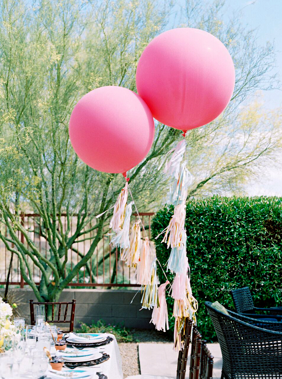 decor alternatives oversized tasseled balloons