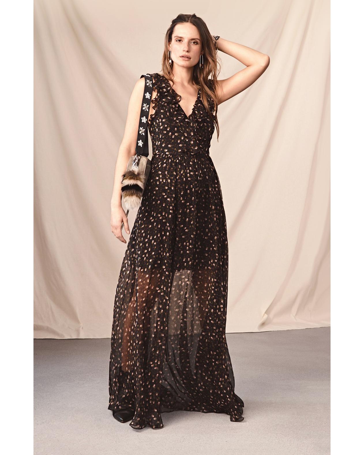 rebecca minkoff brista maxi dress