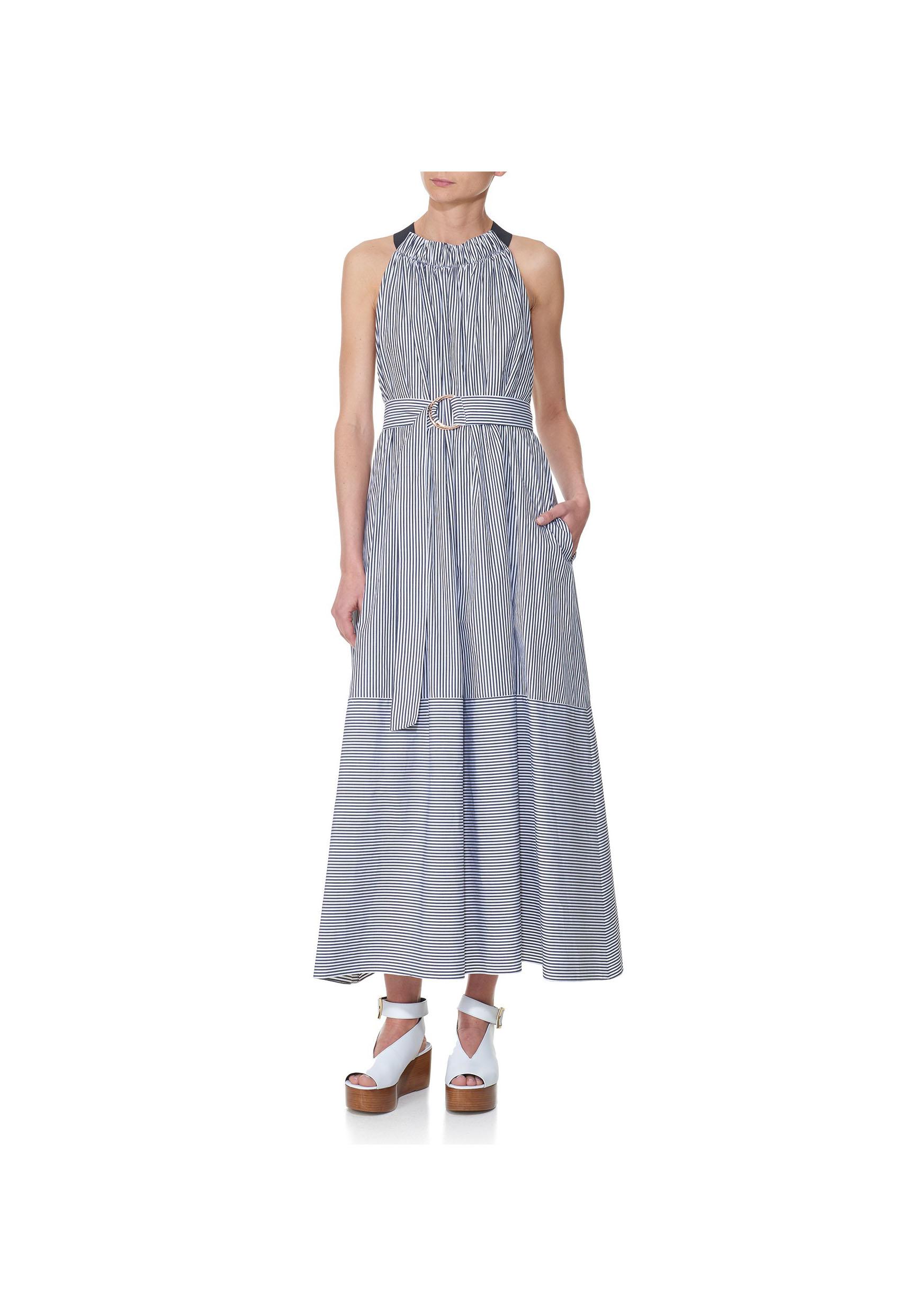 Tibi Striped Shirt Dress