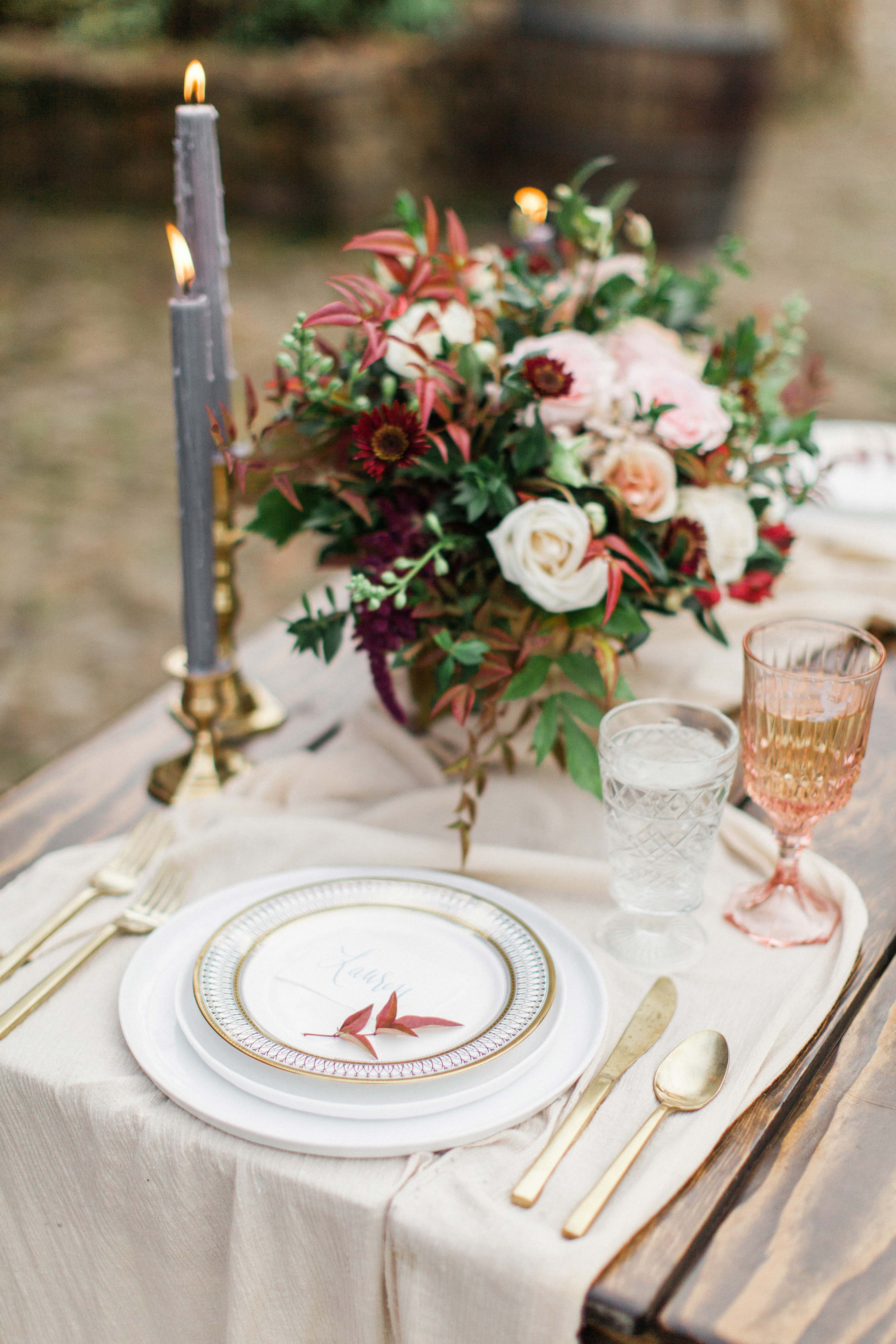 fall wedding color palette mary alice hall
