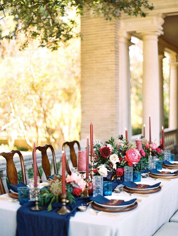yolanda cedric wedding table