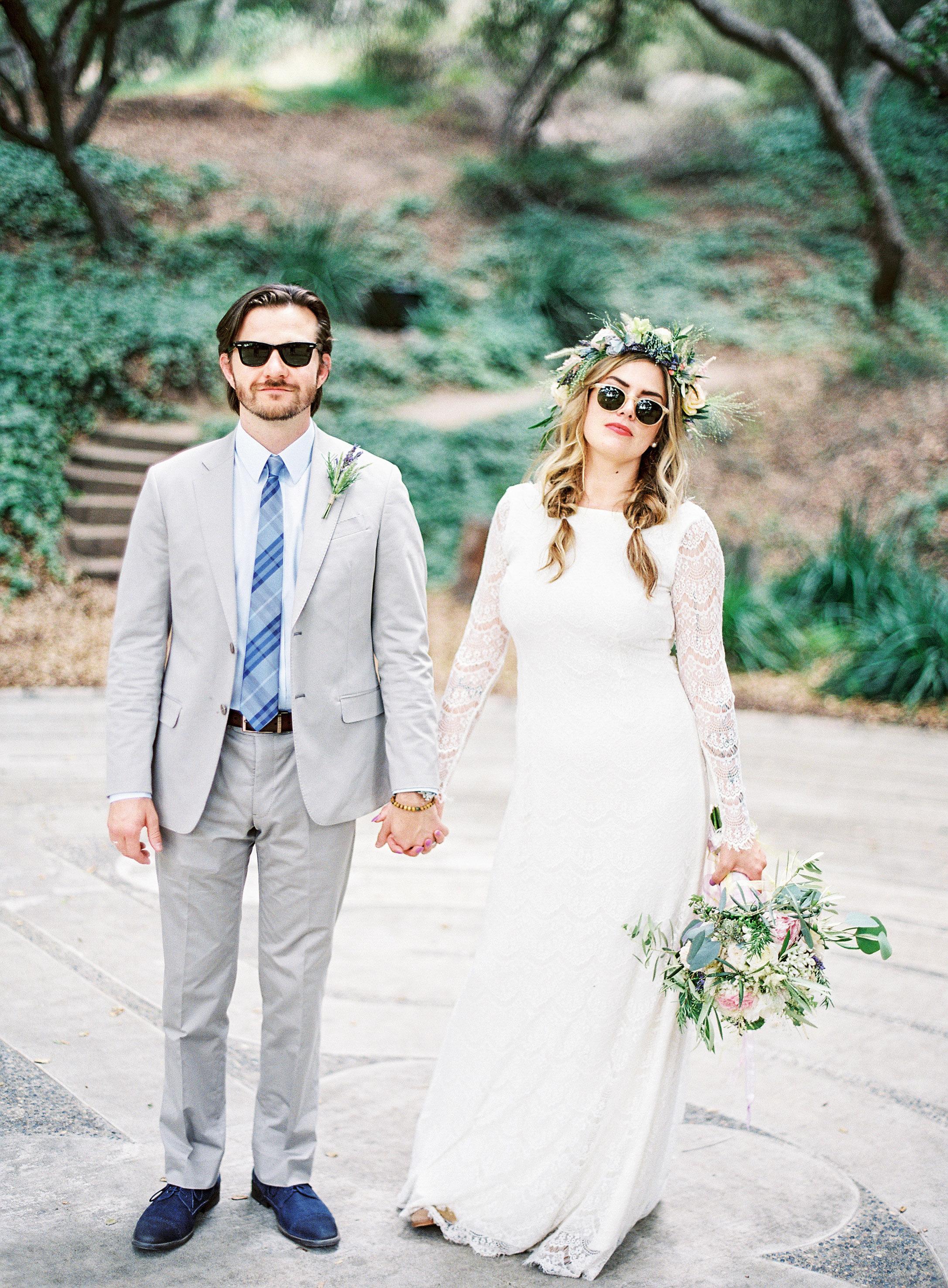 jackie dave wedding sunglasses
