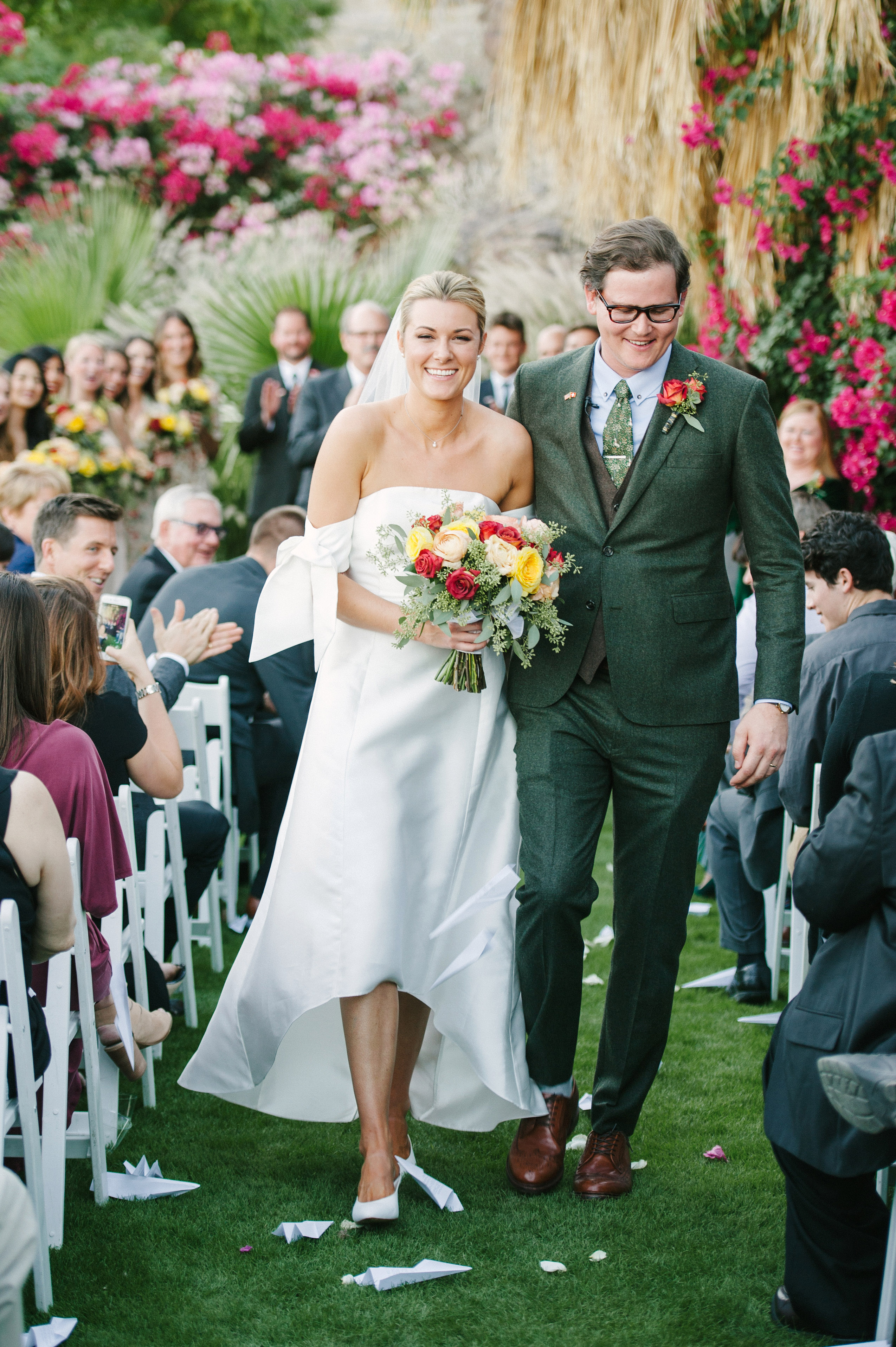 lisa louis wedding recessional