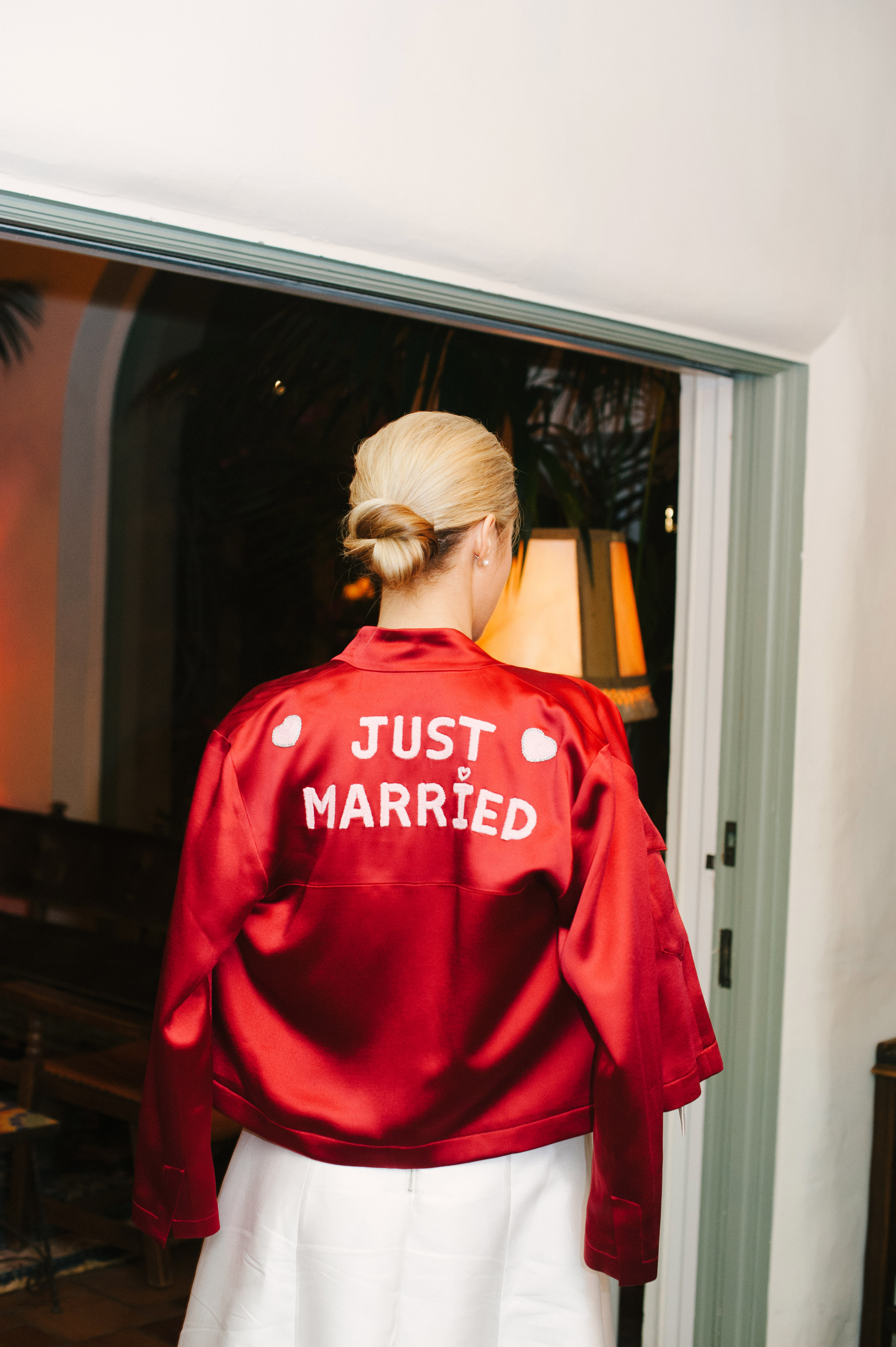 lisa louis wedding jacket