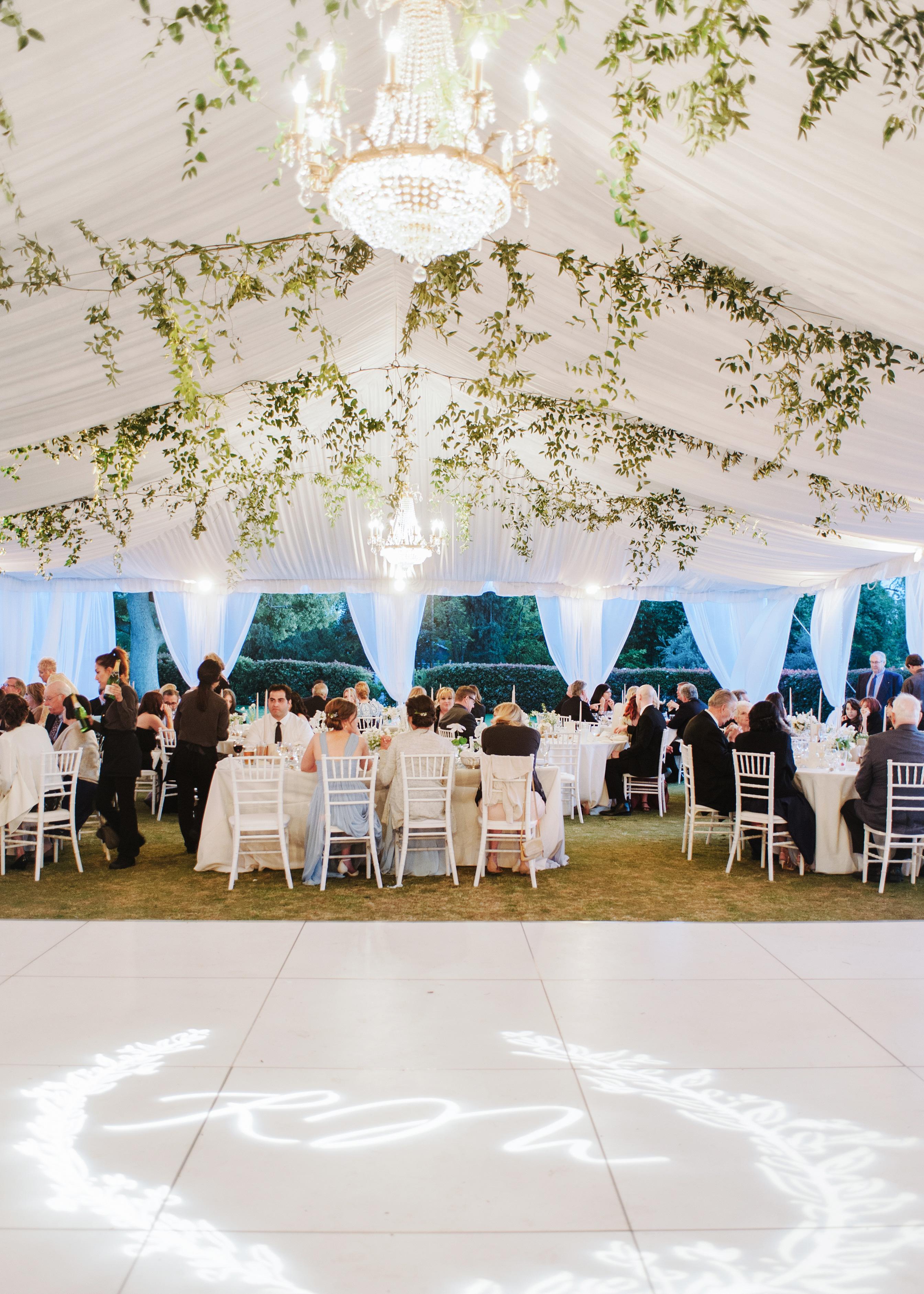 dance floor tent